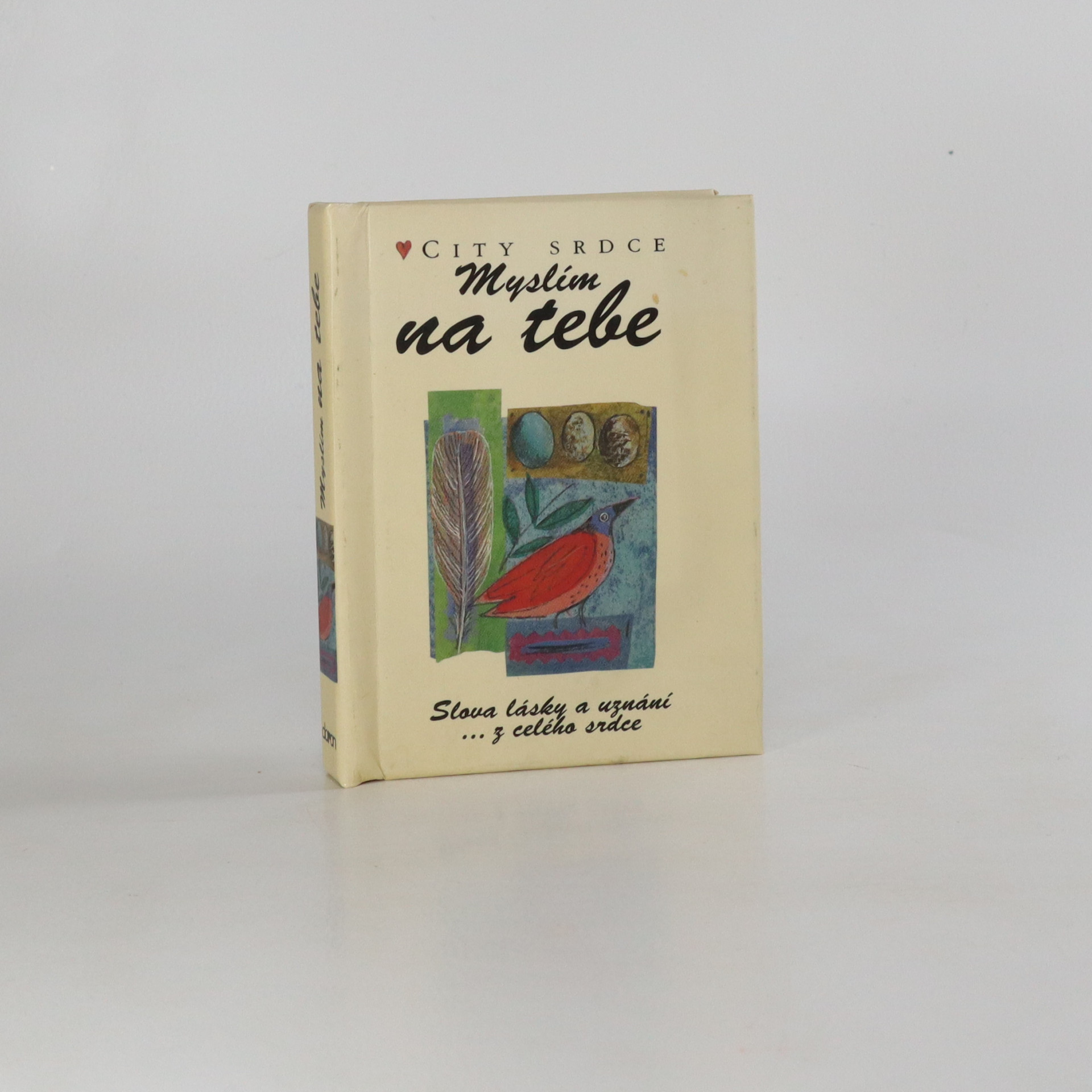 antikvární kniha Myslím na tebe, 2001