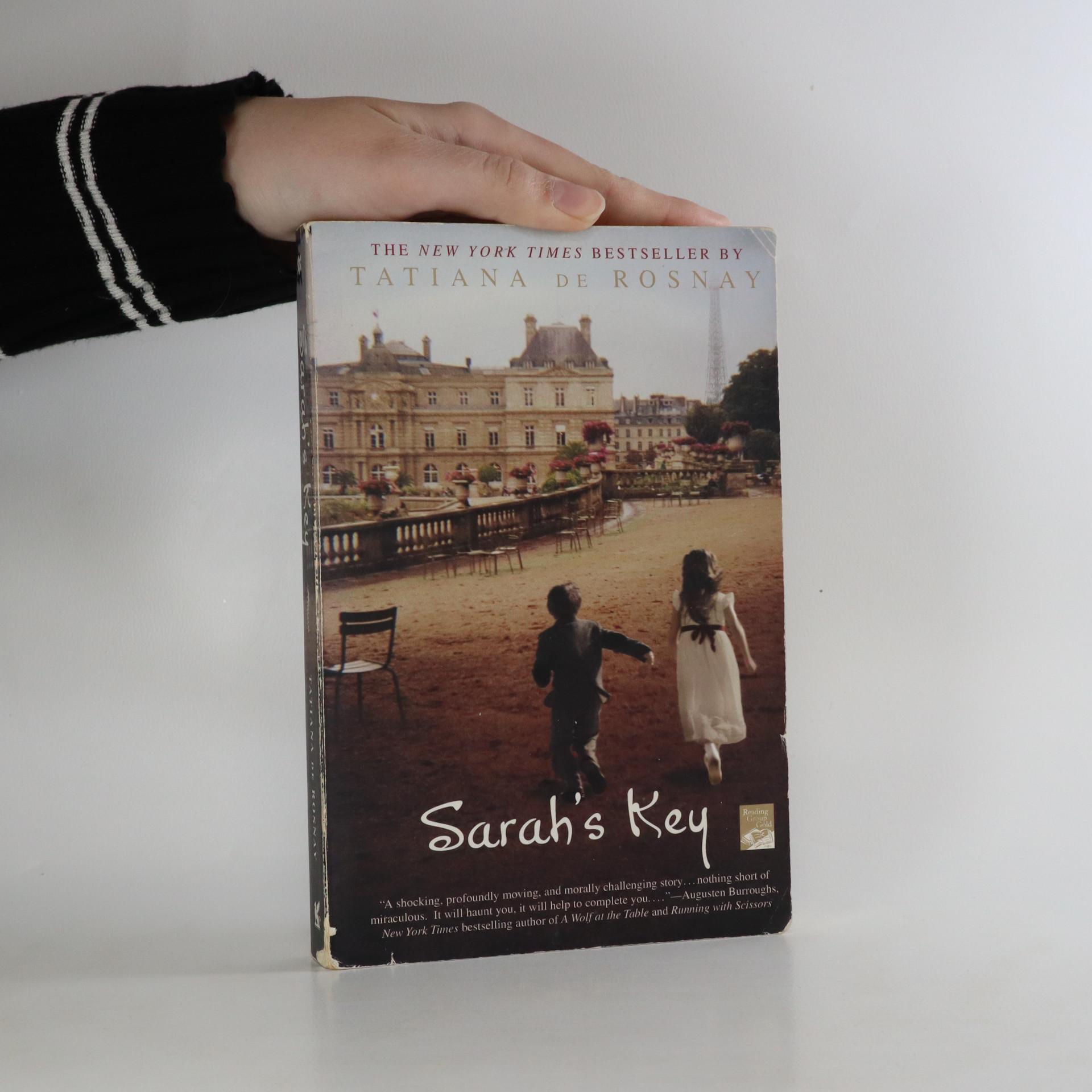 antikvární kniha Sarah's Key, neuveden