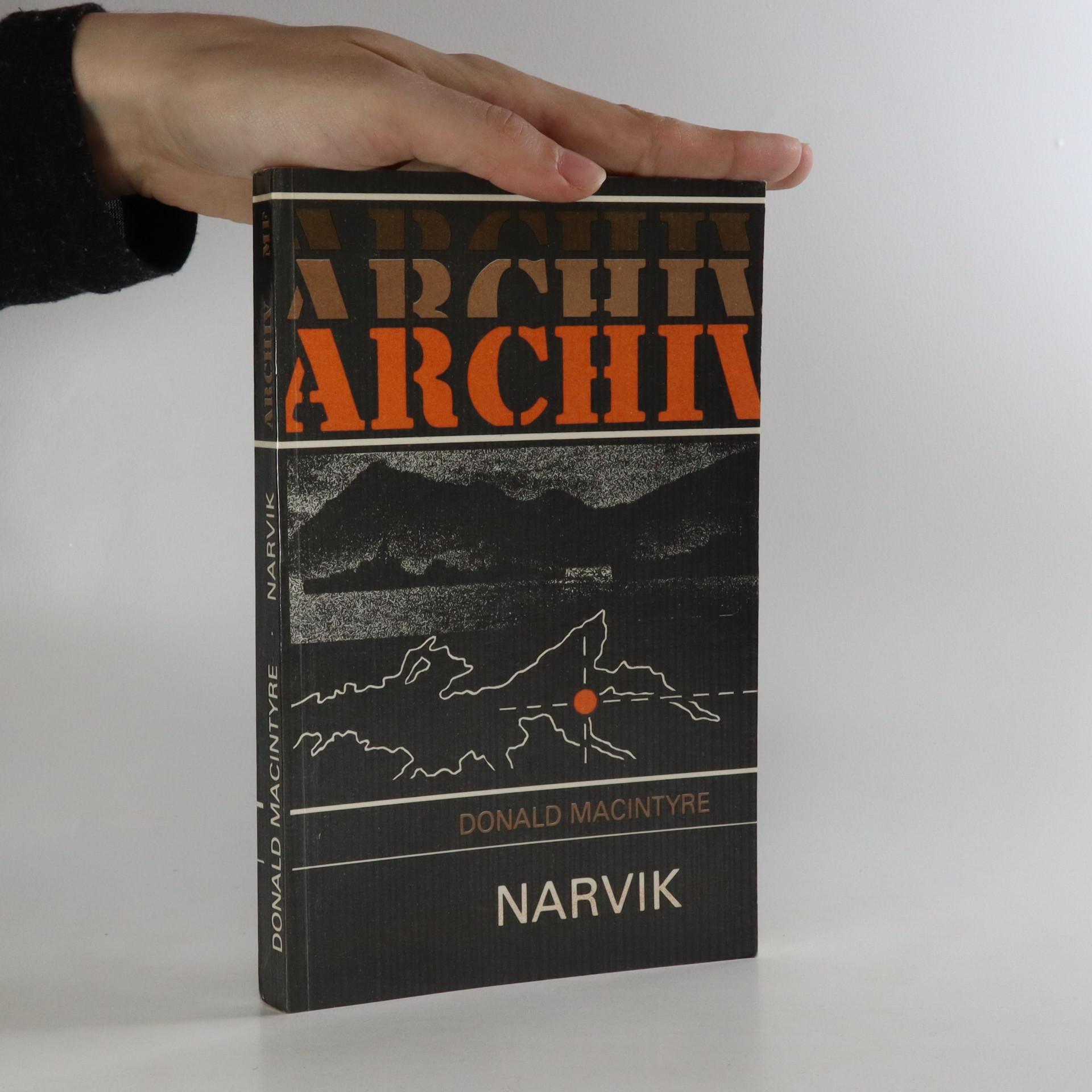 antikvární kniha Narvik, 1989