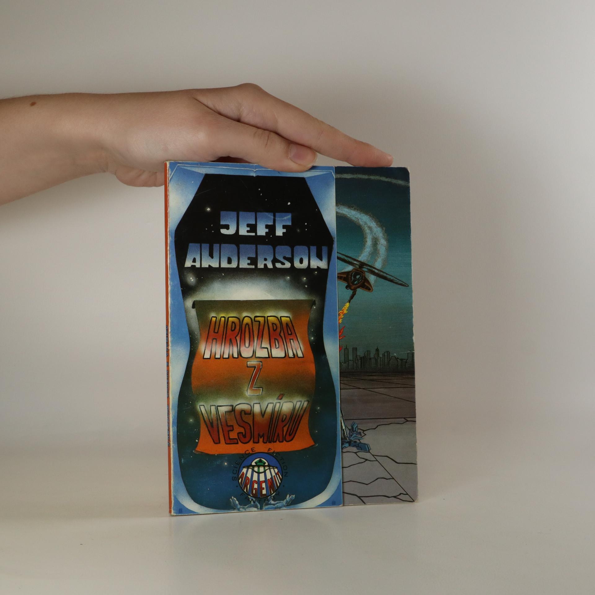 antikvární kniha Hrozba z vesmíru, 1992