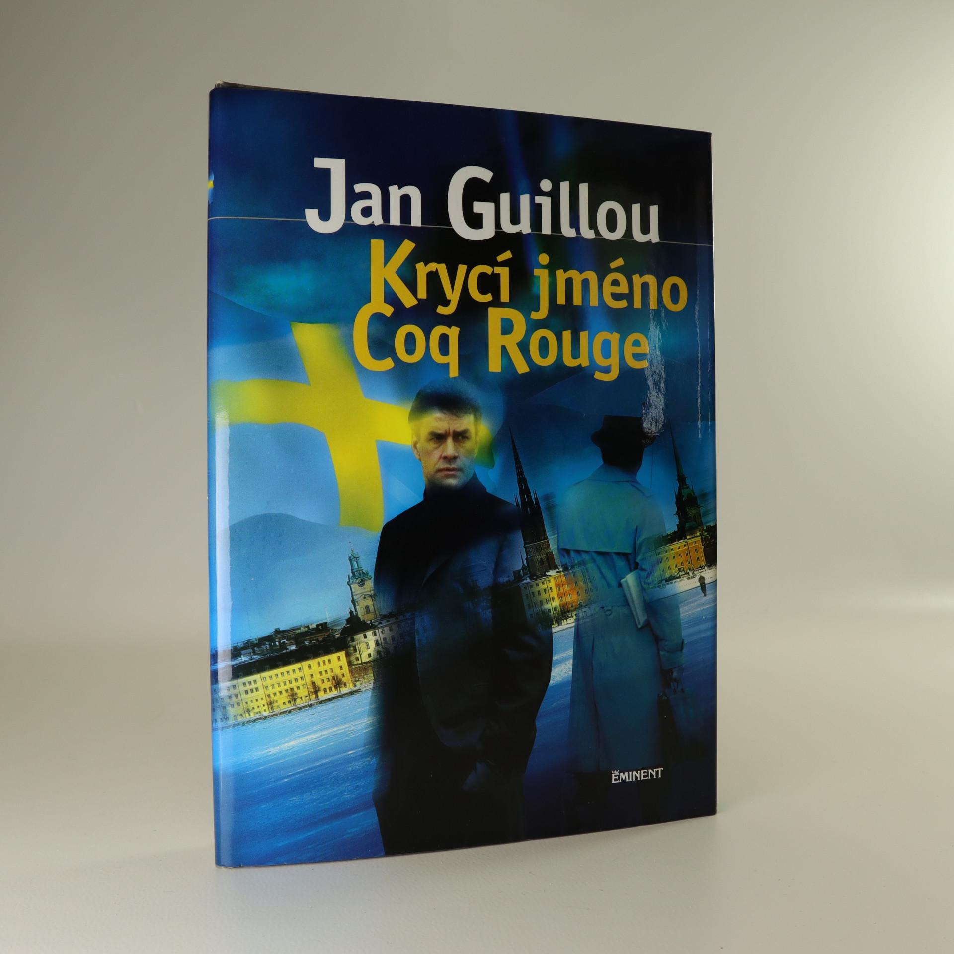 antikvární kniha Krycí jméno Coq Rouge, neuveden