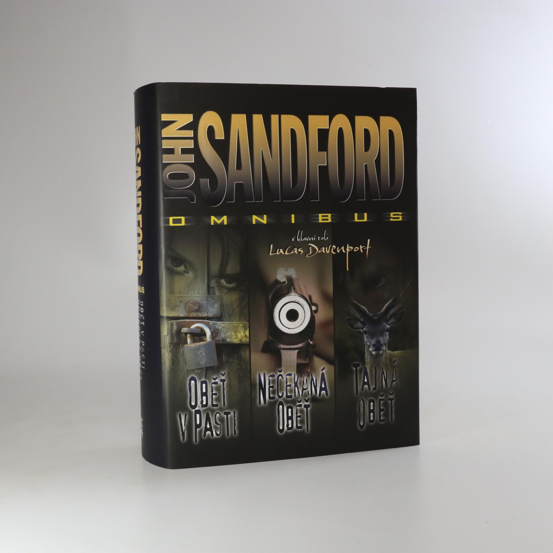 antikvární kniha John Sandford omnibus. V hlavní roli Lucas Davenport, 2013