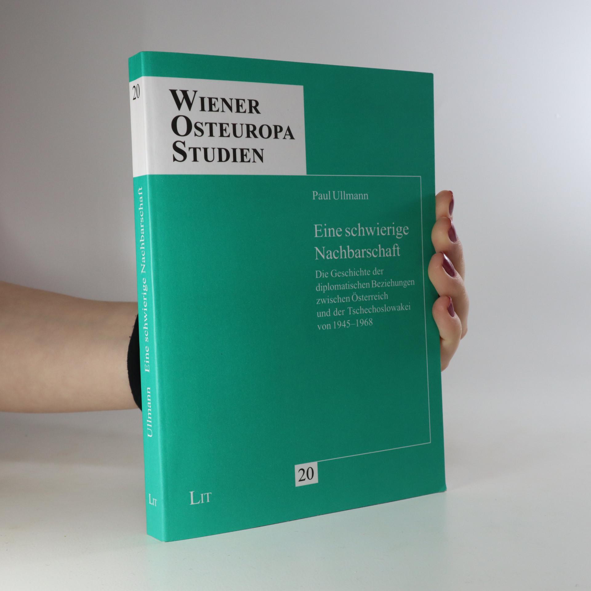 antikvární kniha Eine schwierige Nachbarschaft (podpis), neuveden