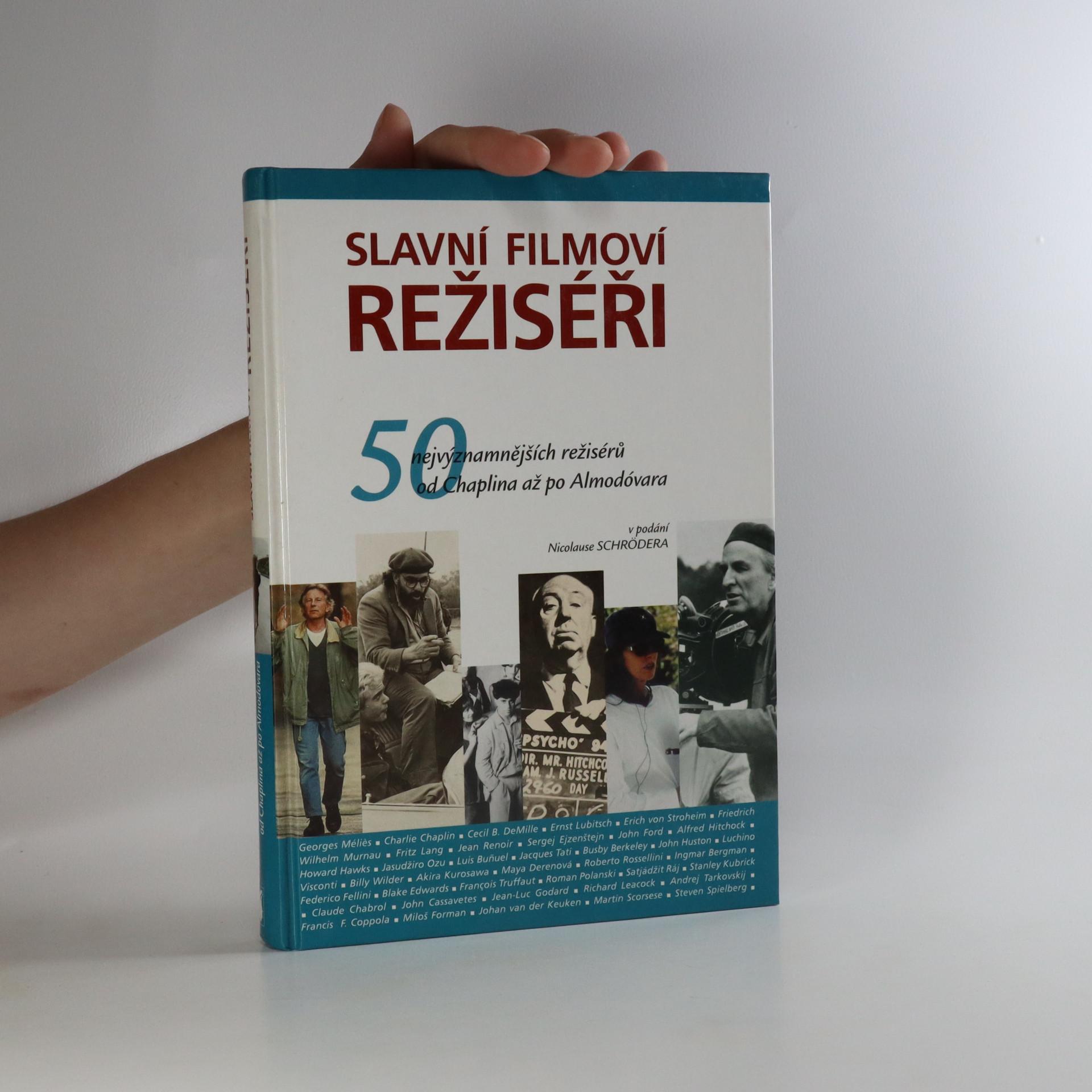 antikvární kniha Slavní filmoví režiséři, 2004