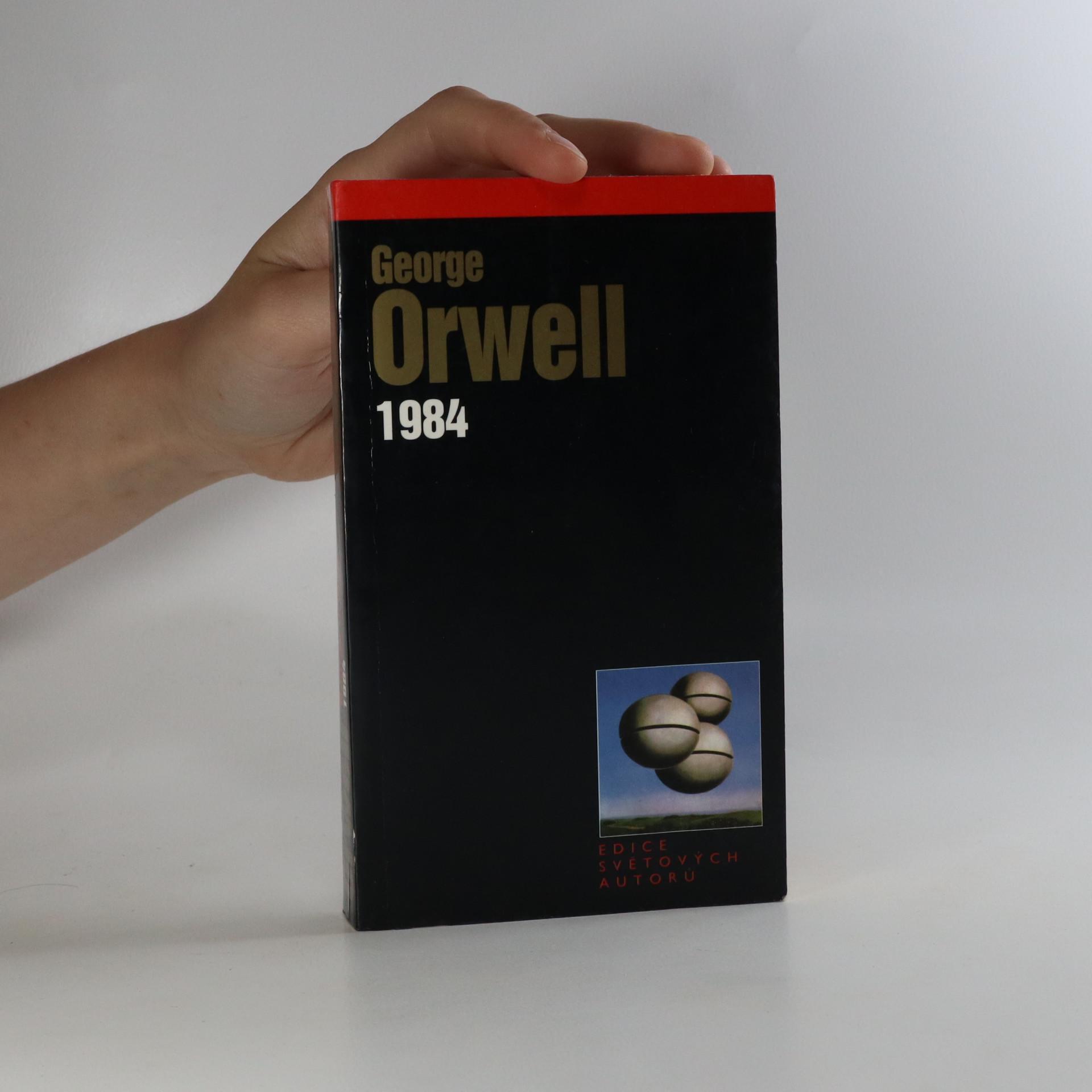 antikvární kniha 1984, 2000