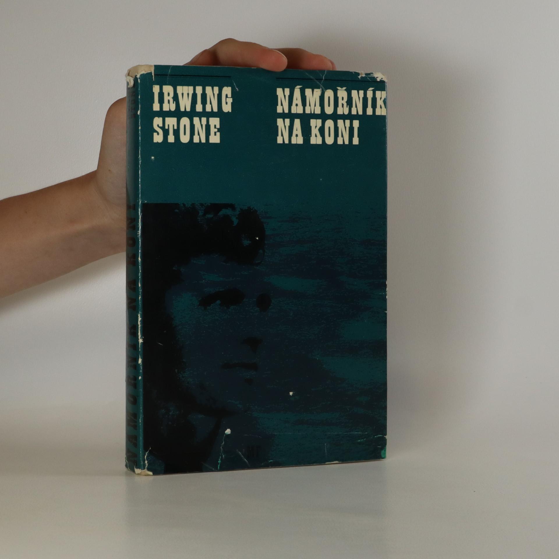 antikvární kniha Námořník na koni, 1973