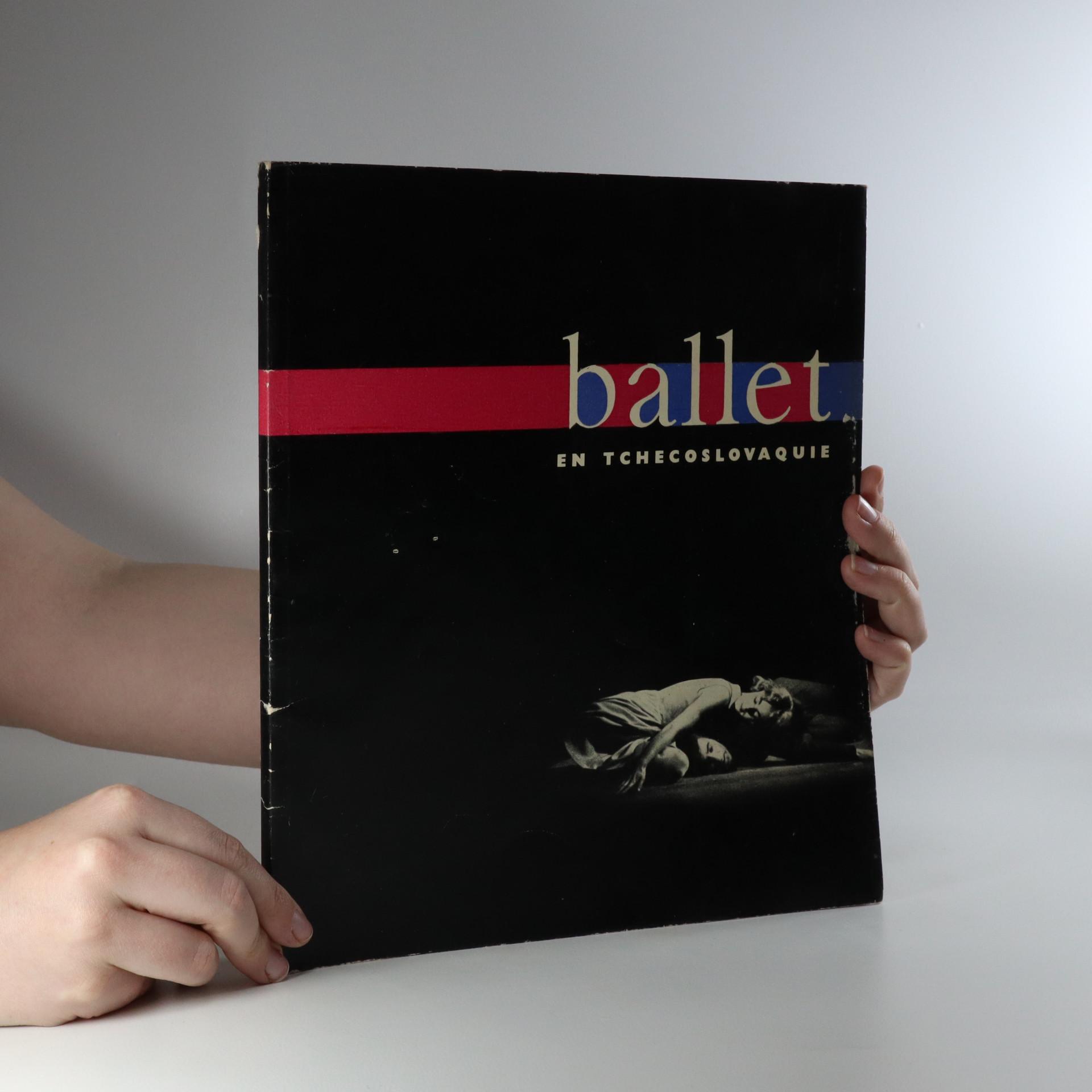 antikvární kniha Ballet en Tchécoslovaquie, 1962