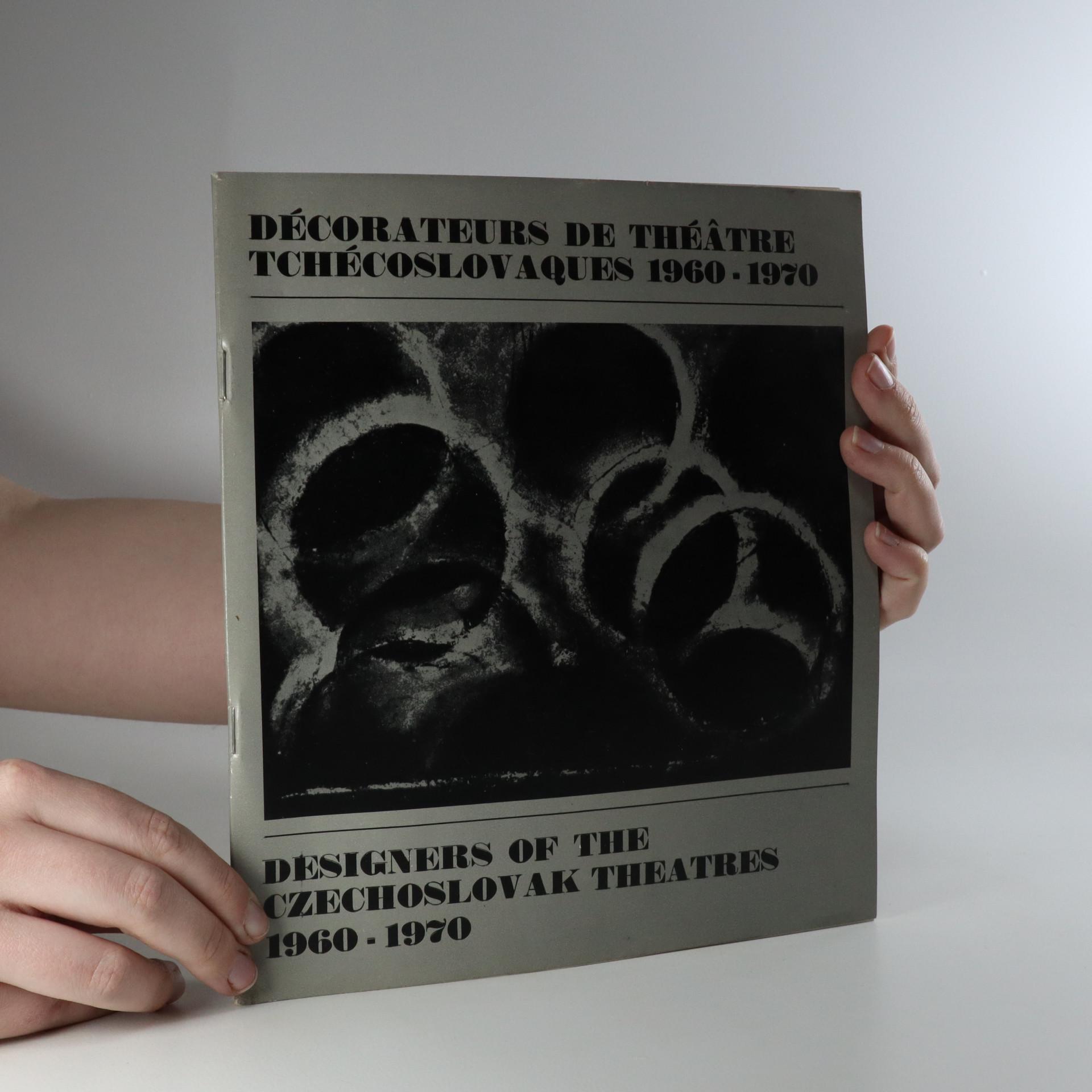 antikvární kniha Décorateurs de théatre tchécoslovaques 1960-1970, 1971