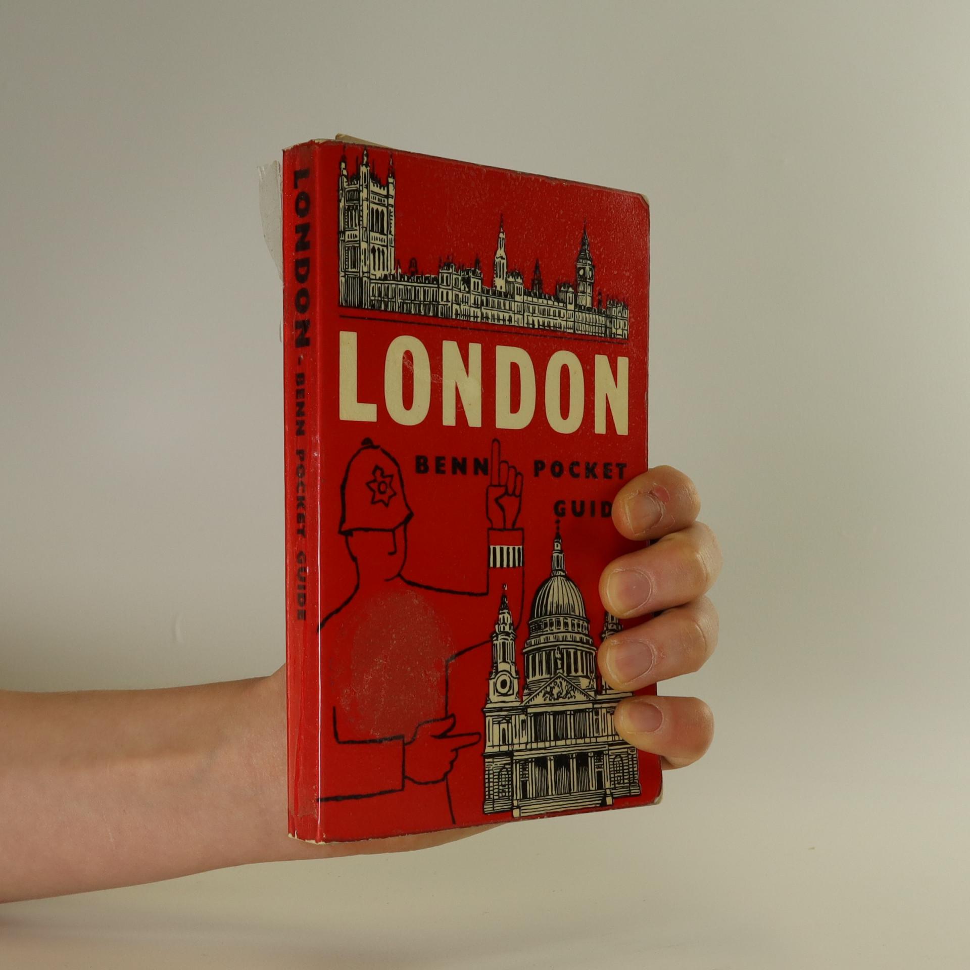 antikvární kniha London, 1962
