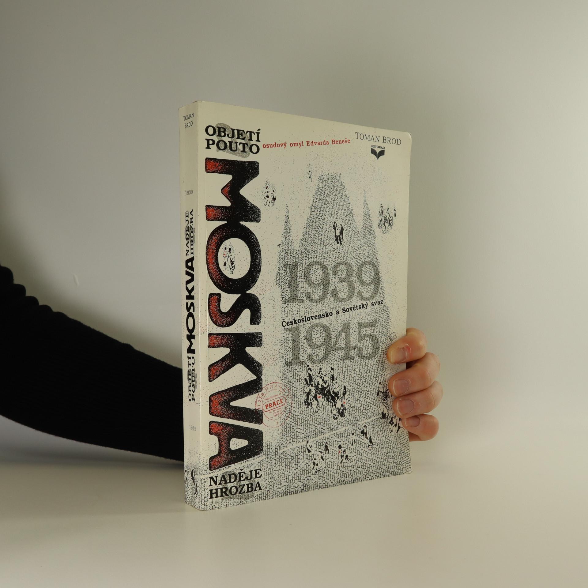 antikvární kniha Moskva. Objetí a pouto , 1992