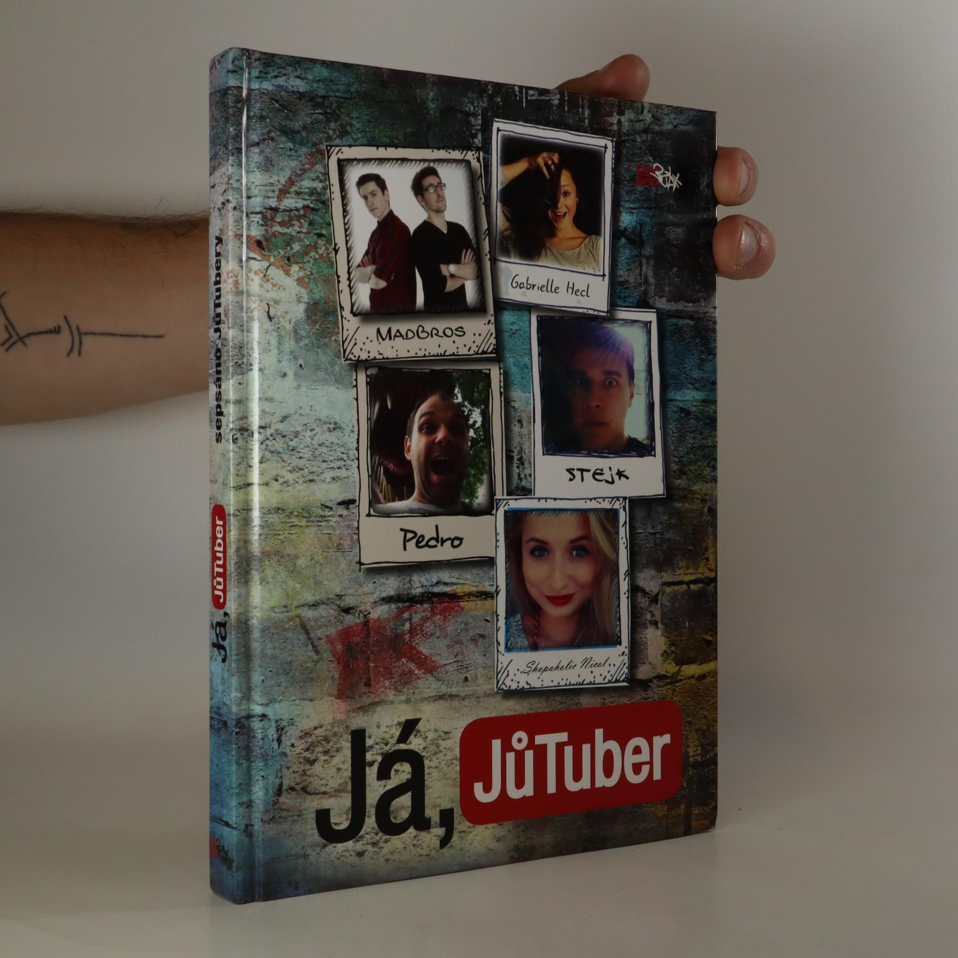 antikvární kniha Já, JůTuber, 2015