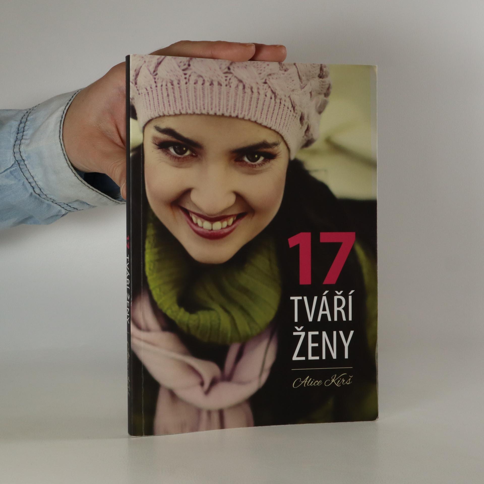 antikvární kniha 17 tváří ženy (věnování autorky, kniha nemá tiráž) , neuveden