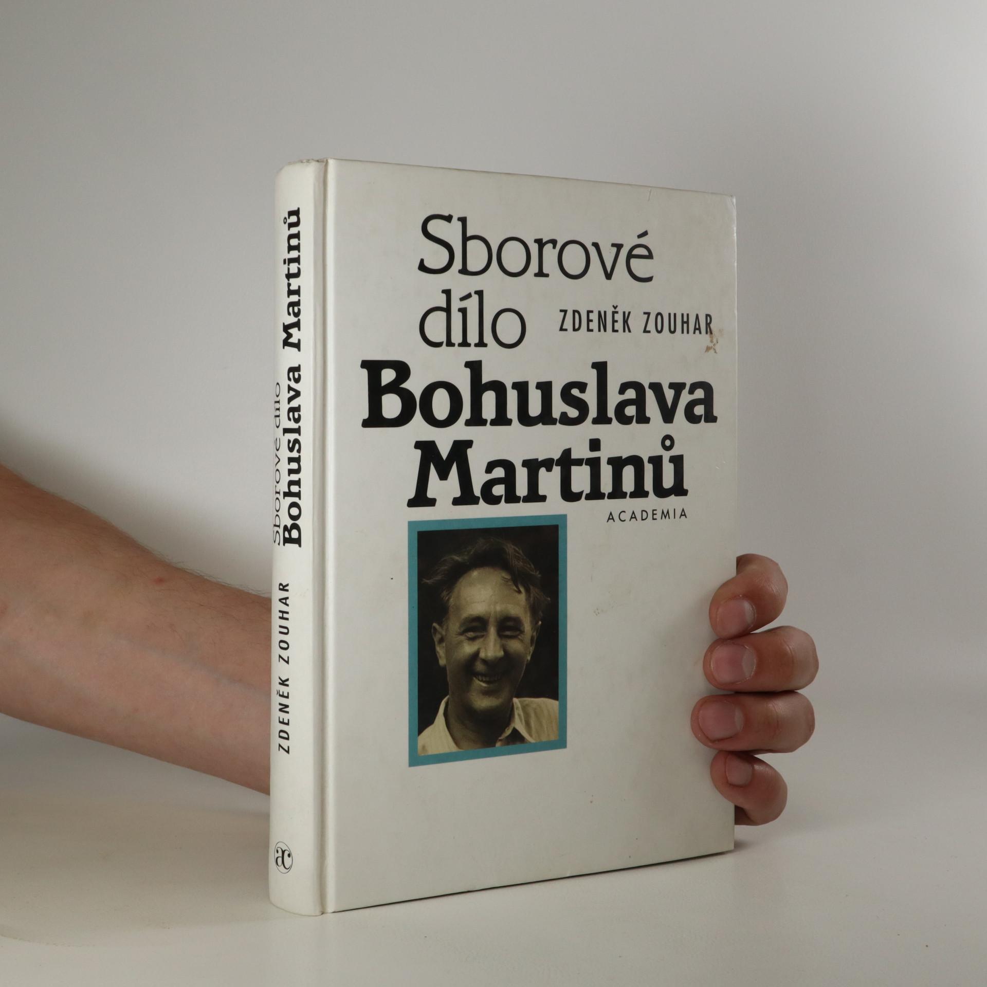 antikvární kniha Sborové dílo Bohuslava Martinů, 2001