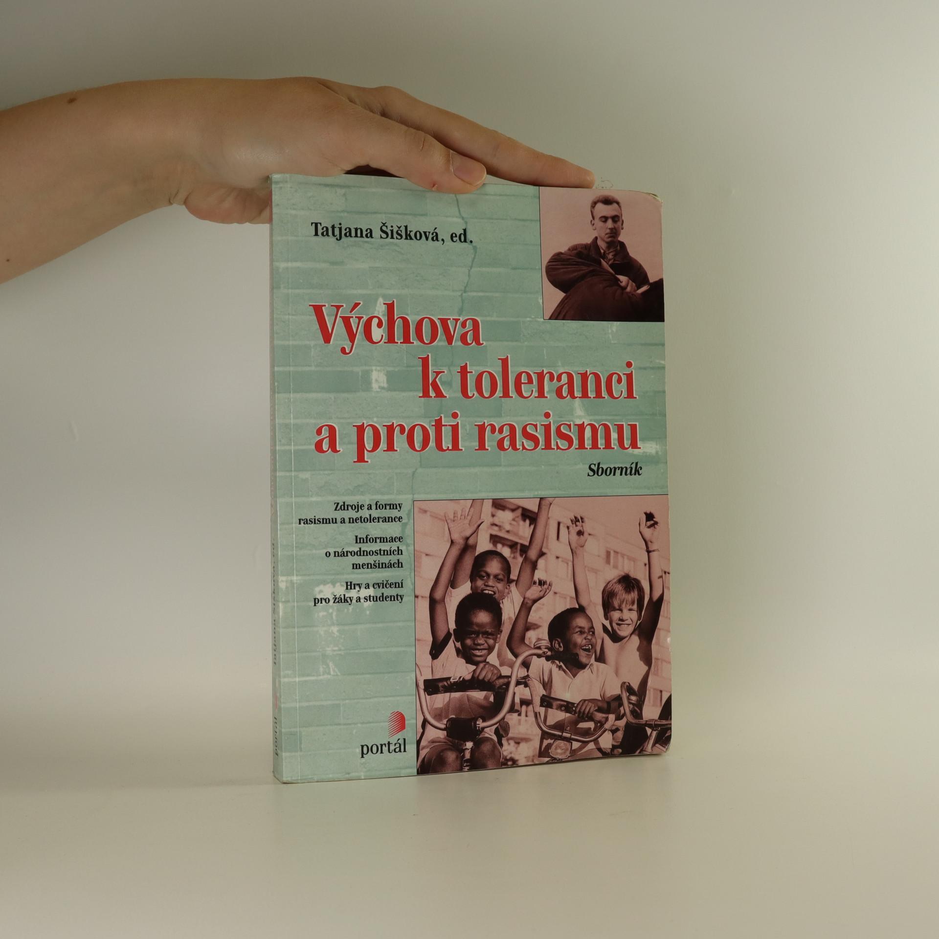 antikvární kniha Výchova k toleranci a proti rasismu, 1998