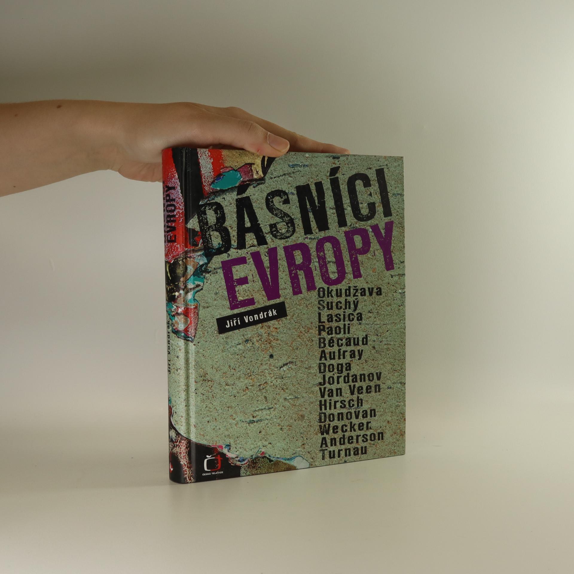 antikvární kniha Básníci Evropy, 2007