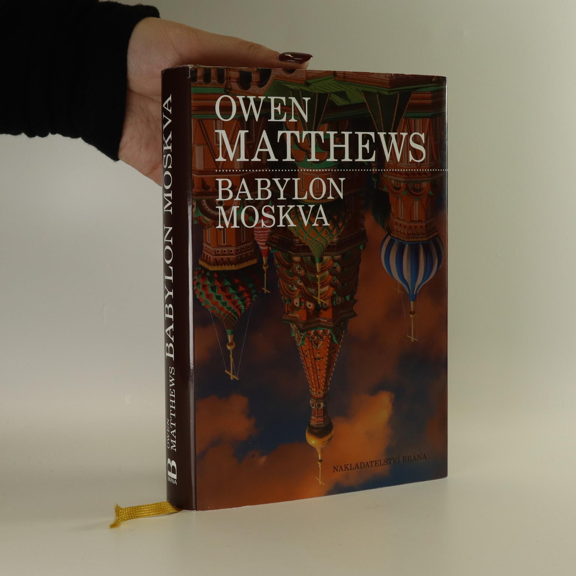 antikvární kniha Babylon Moskva, 2014
