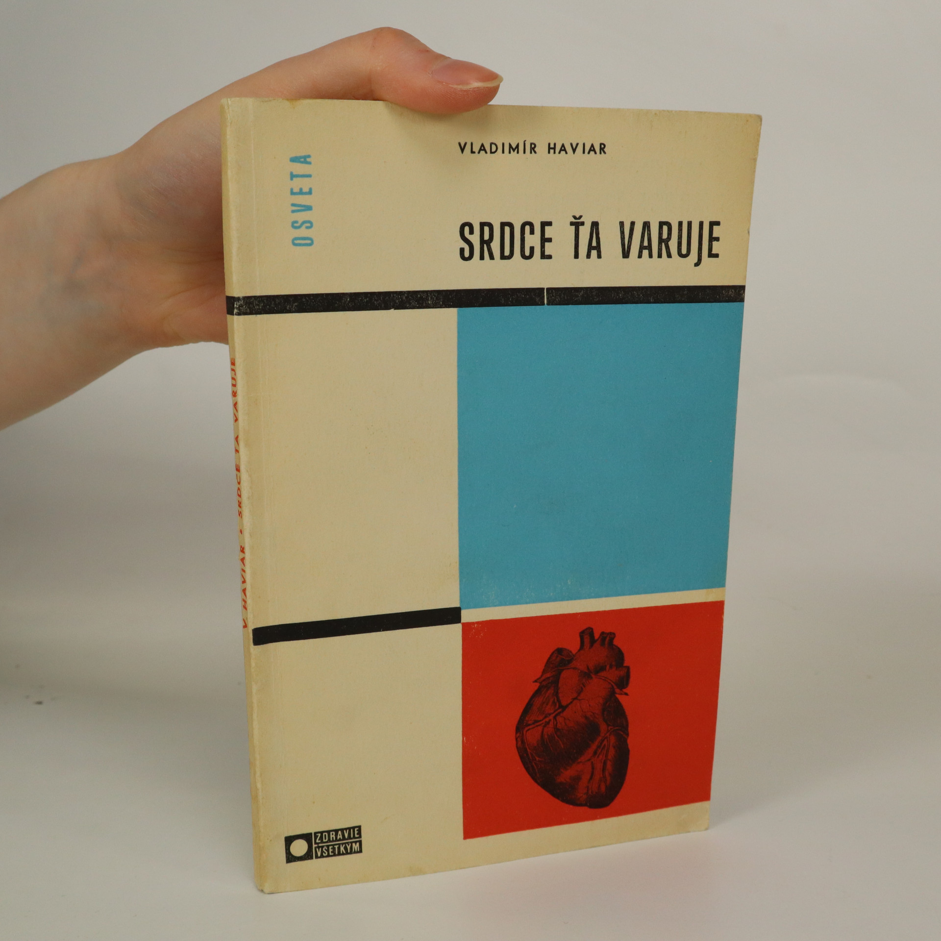 antikvární kniha Srdce ťa varuje, 1969