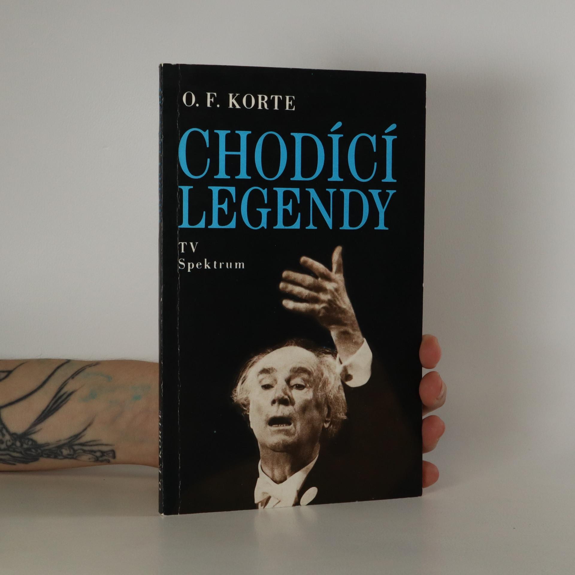 antikvární kniha Chodící legendy (podpis autora), 1991