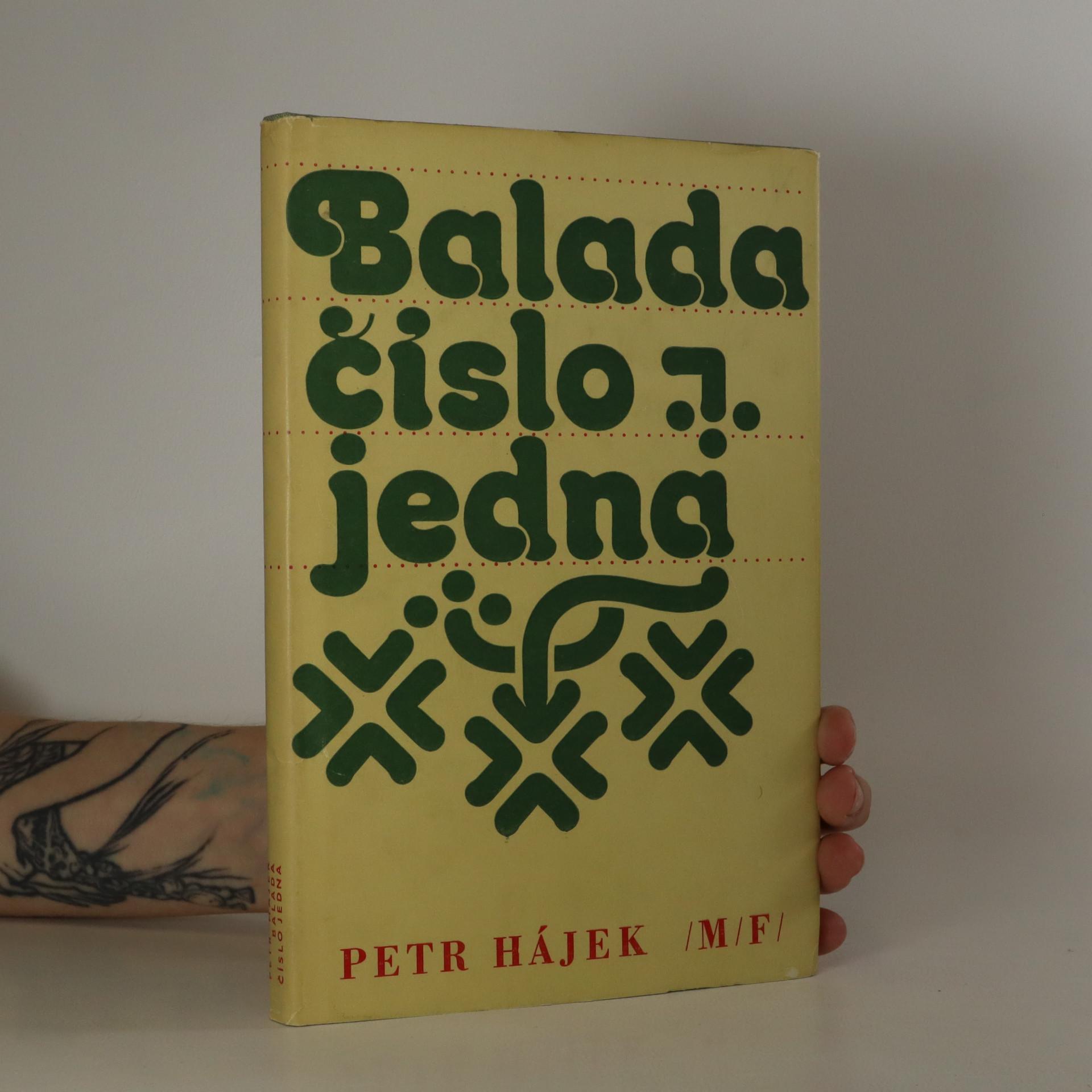 antikvární kniha Balada číslo jedna, 1975