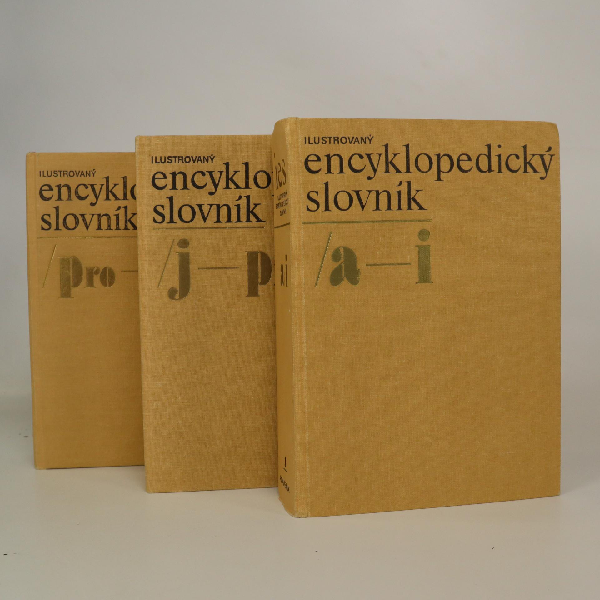 antikvární kniha Ilustrovaný encyklopedický slovník (3 svazky, komplet), 1980-1982