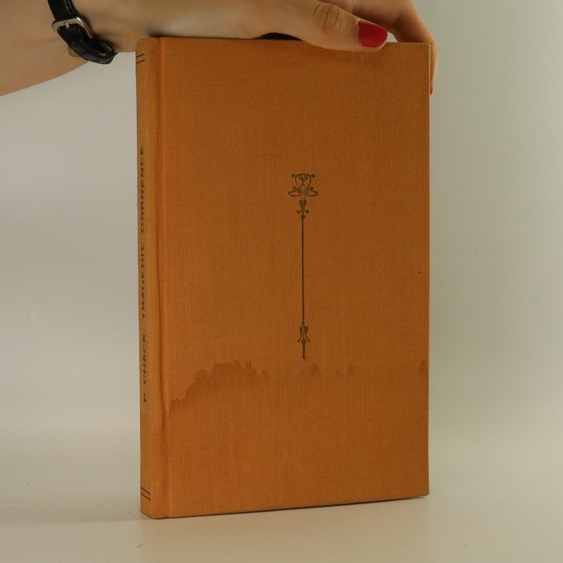 antikvární kniha Tragédie obrněnce, 1930