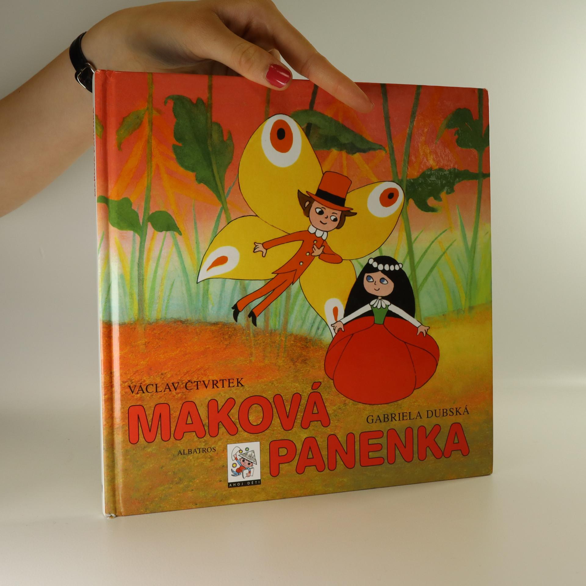 antikvární kniha Maková panenka, 2000