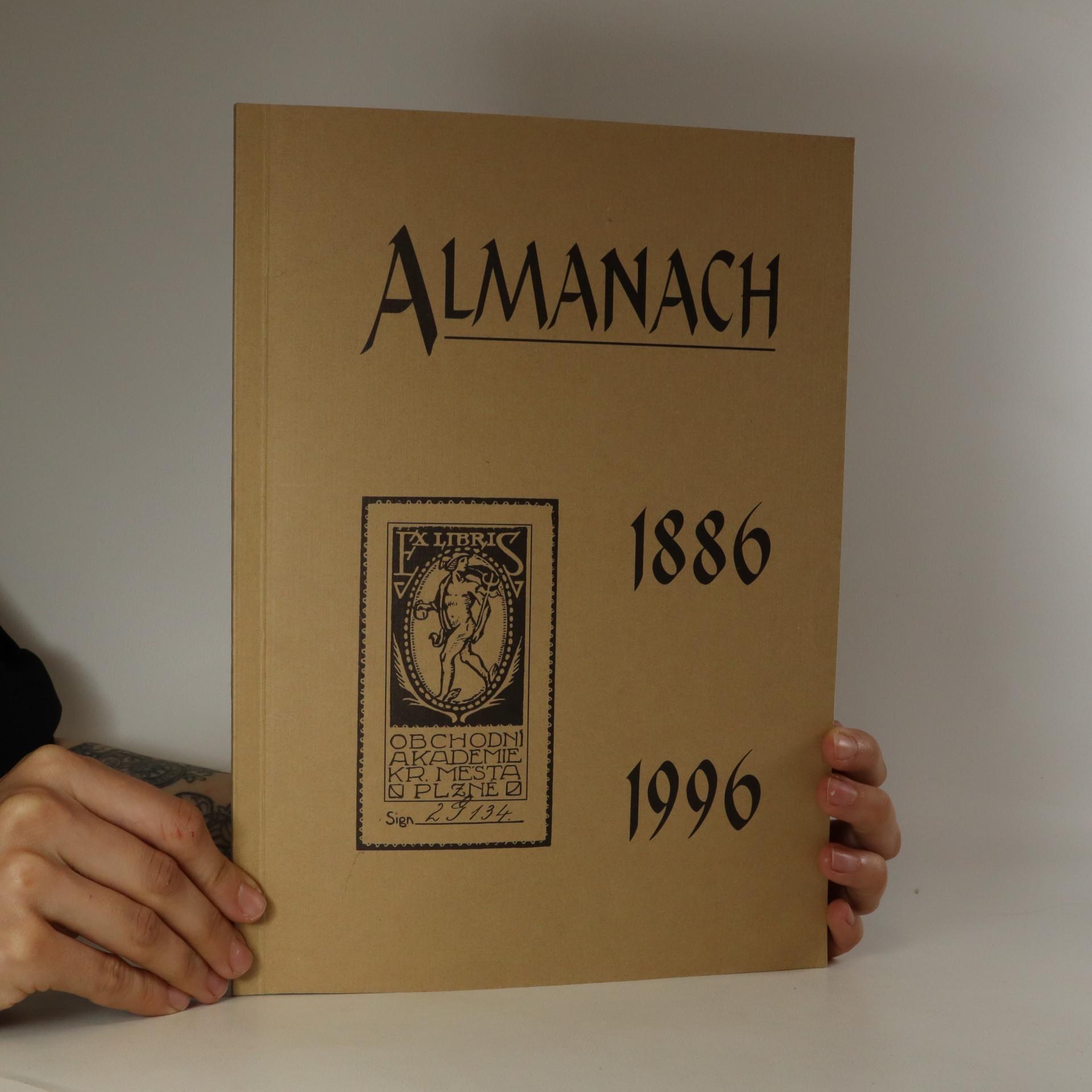 antikvární kniha Almanach Obchodní akademie v Plzni, 1996