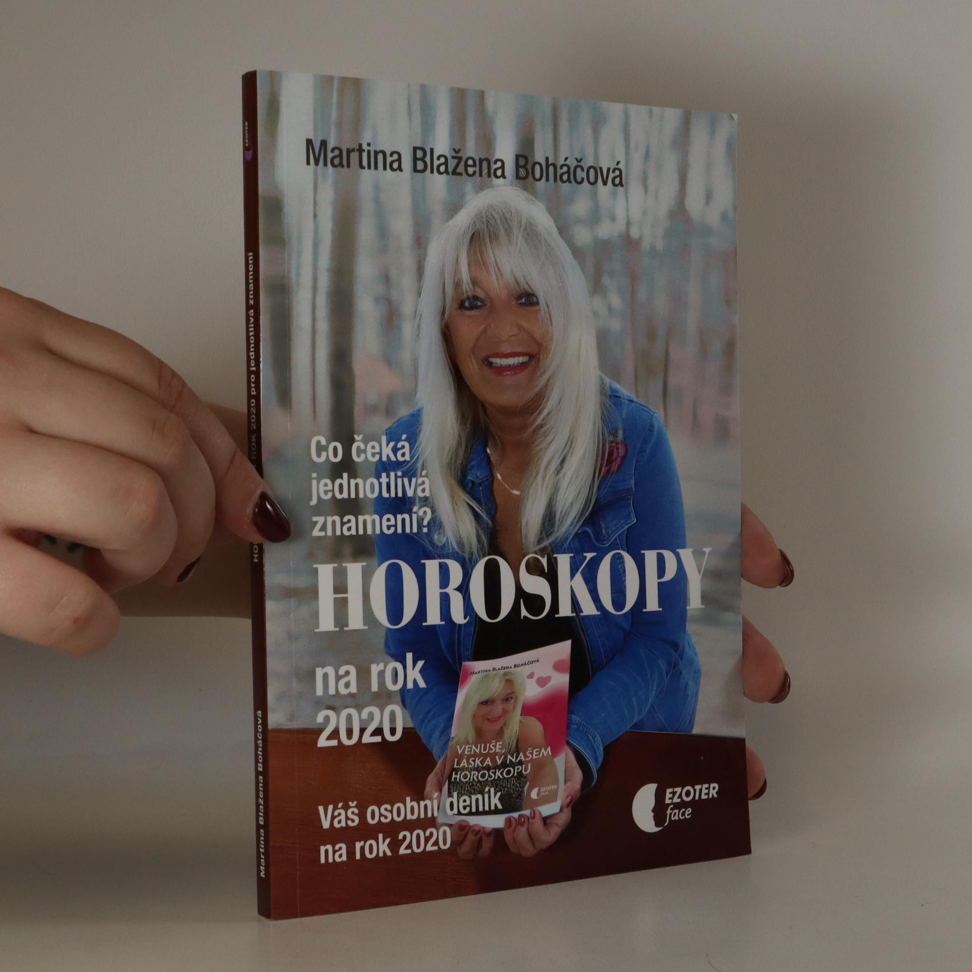 antikvární kniha Horoskopy na rok 2020. Co čeká jednotlivá znamení? Váš osobní deník na rok 2020, 2019