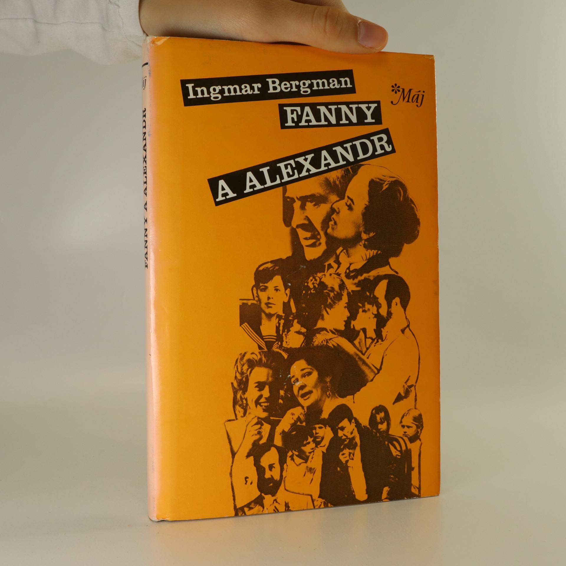 antikvární kniha Fanny a Alexandr, 1988