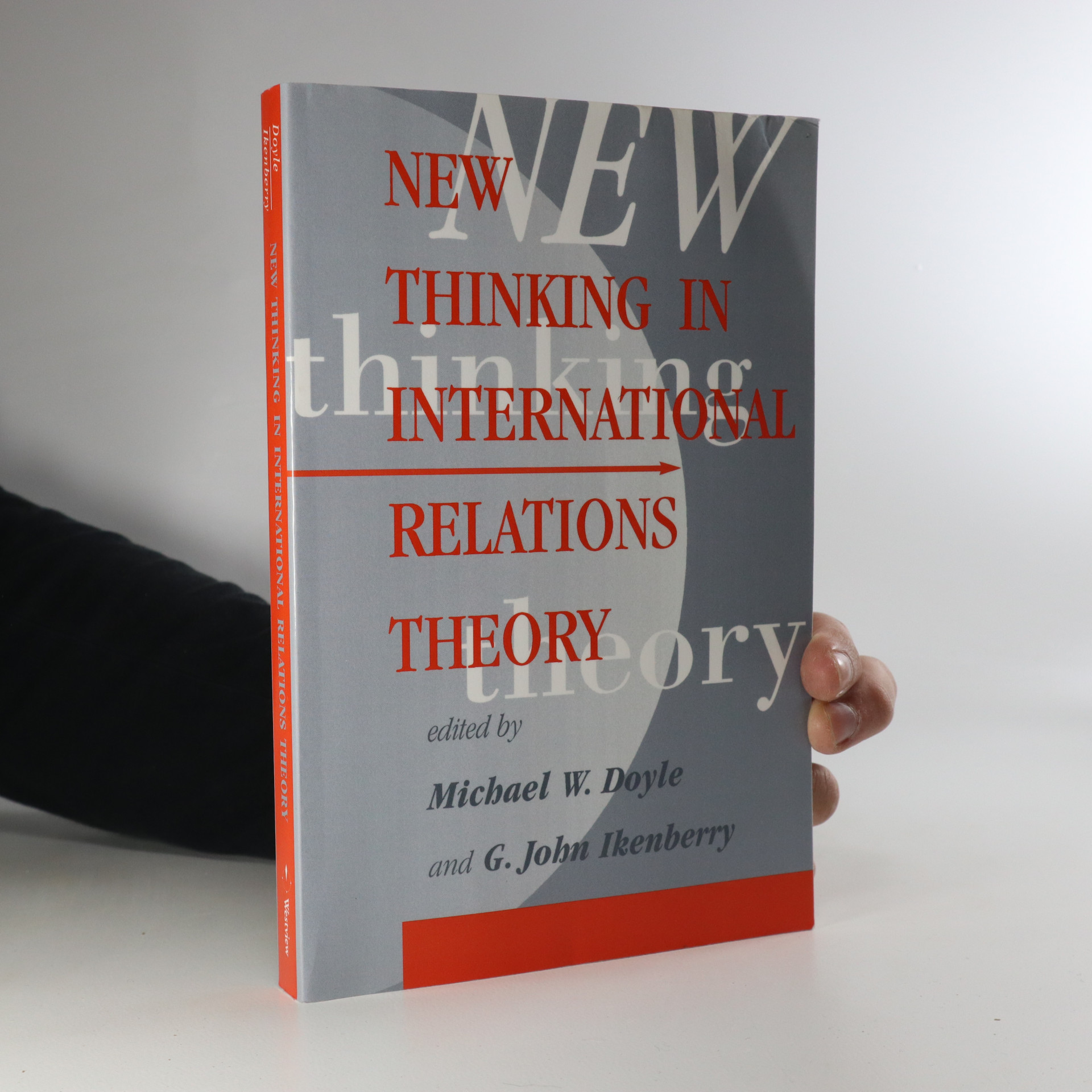 antikvární kniha New thinking in international relations theory, 1997