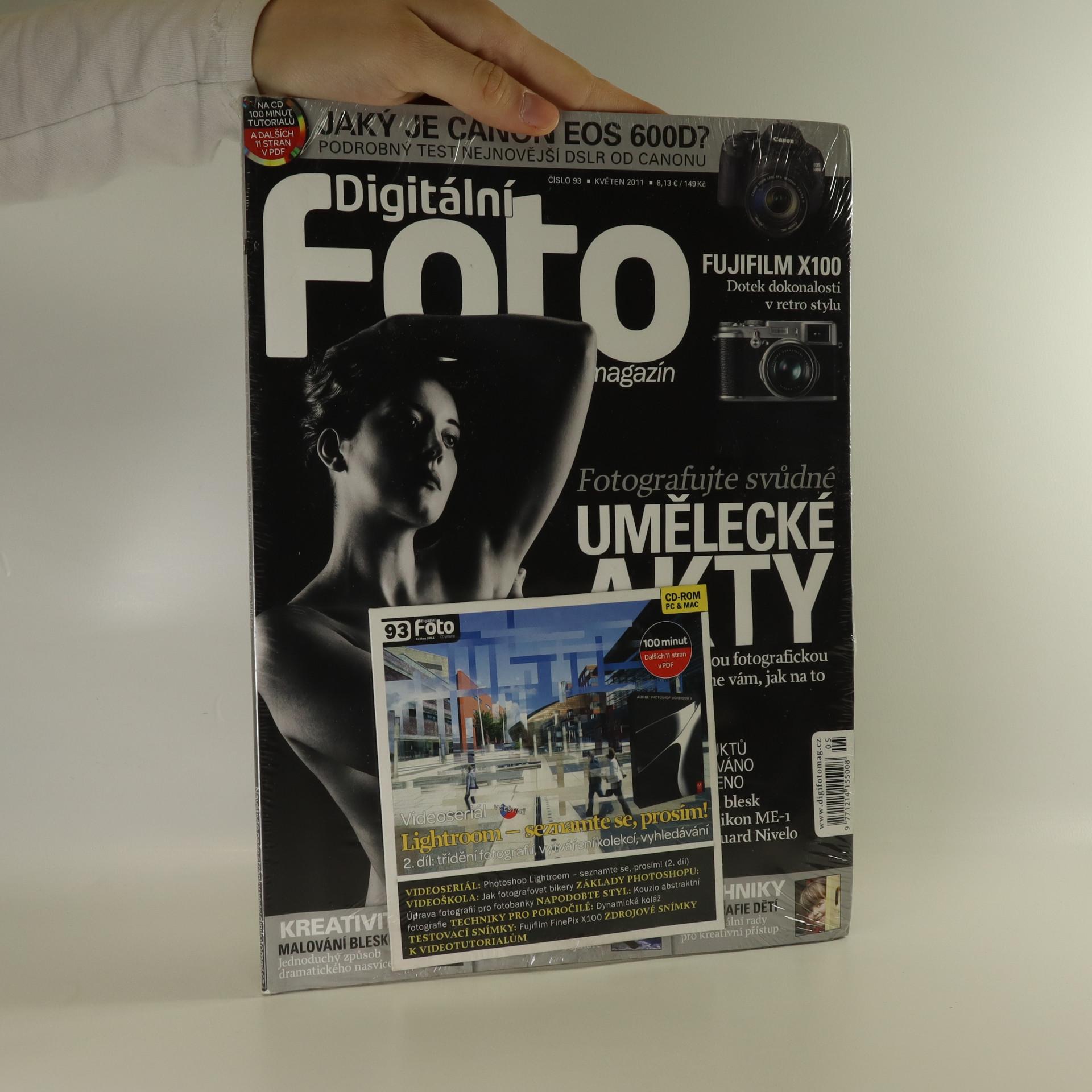 antikvární kniha Digitální foto magazín, 2011