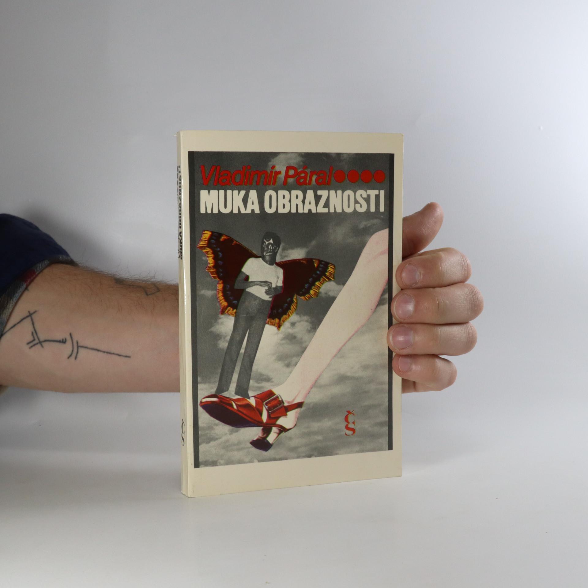antikvární kniha Muka obraznosti, 1986