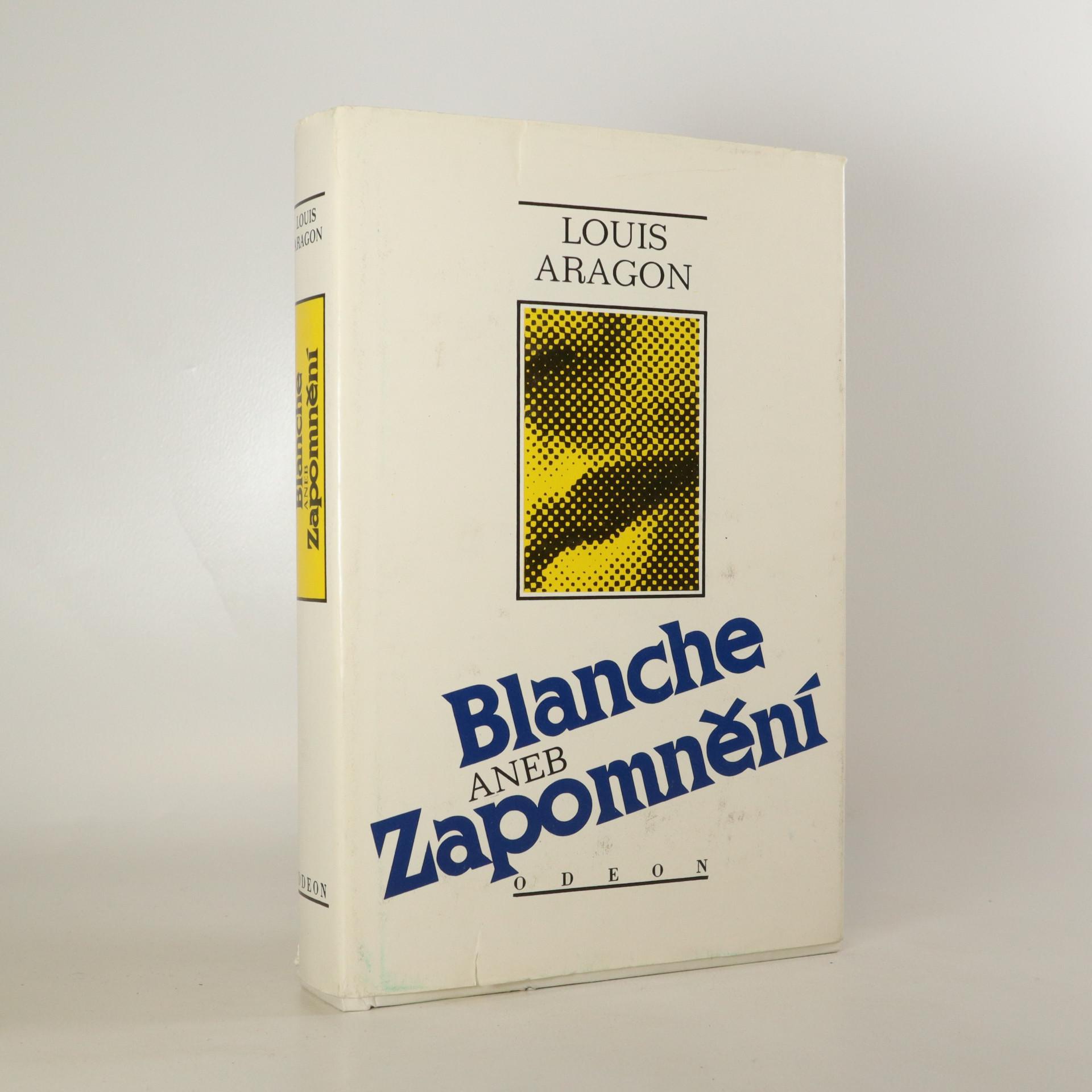 antikvární kniha Blanche aneb Zapomnění, 1990