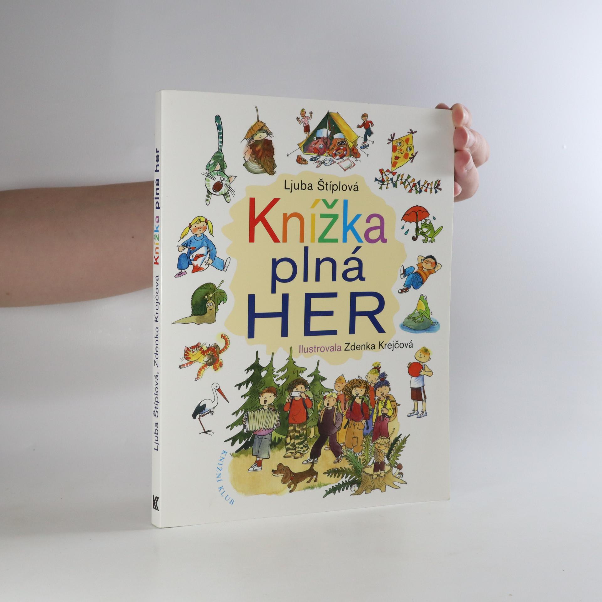 antikvární kniha Knížka plná her, 2009