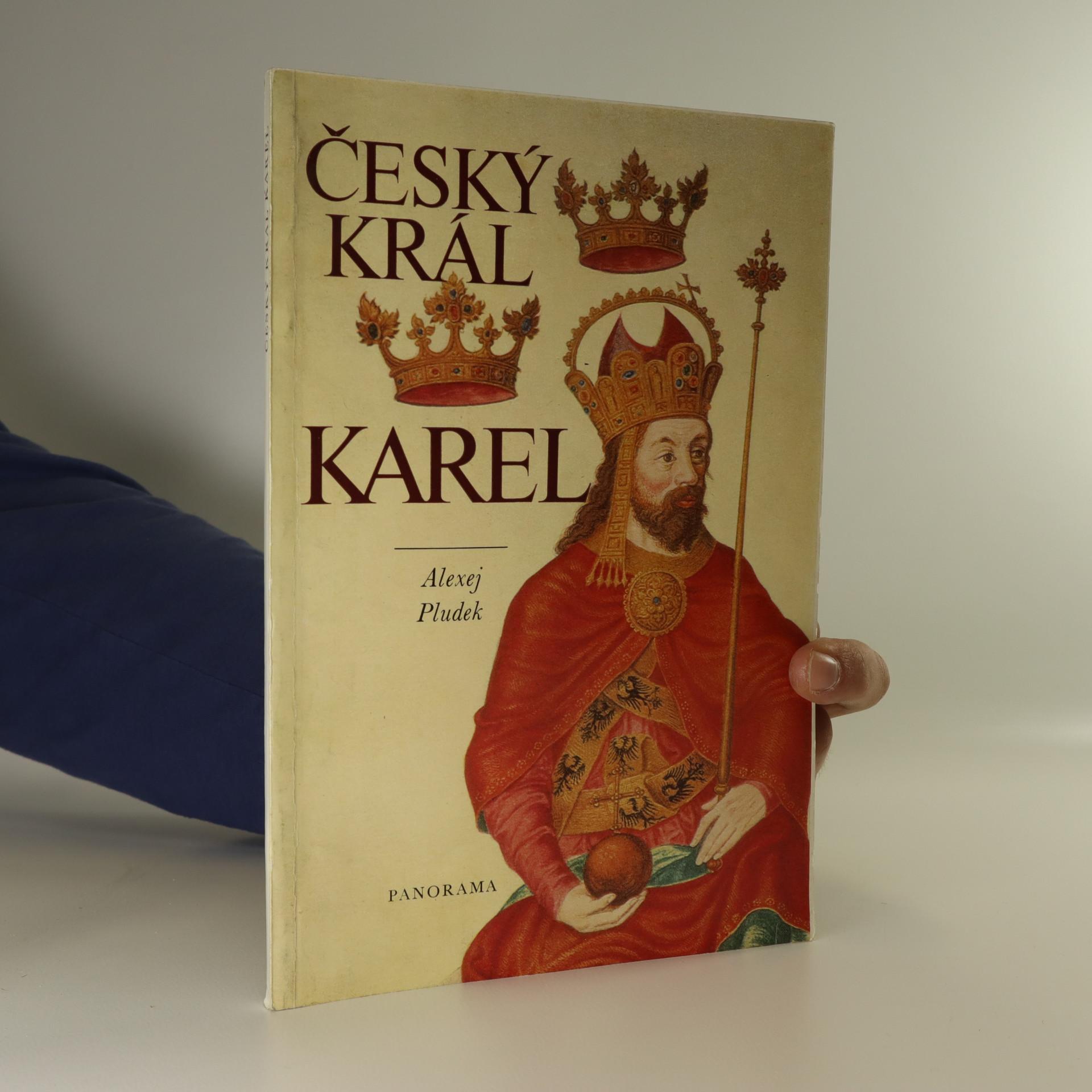 antikvární kniha Český král Karel, 1979
