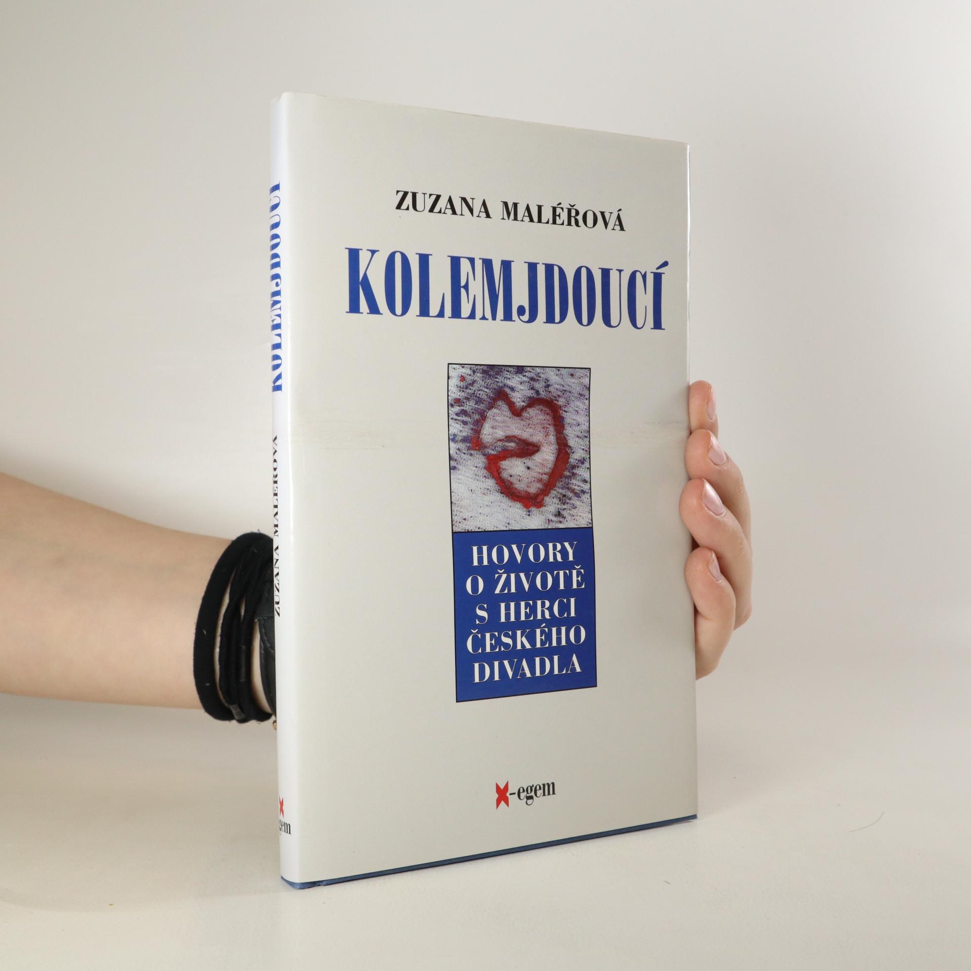 antikvární kniha Kolemjdoucí. Hovory o životě s herci českého divadla, 2000