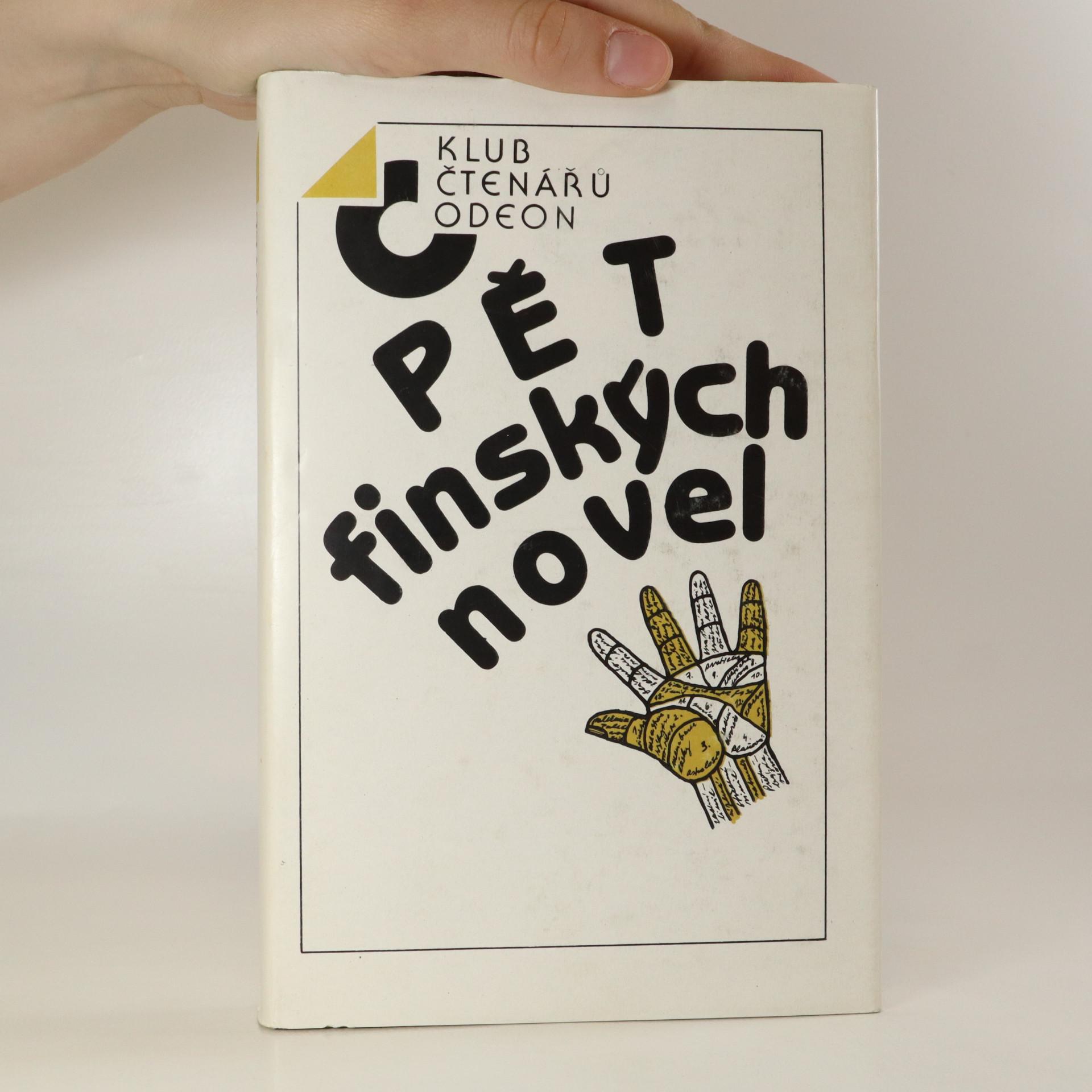 antikvární kniha Pět finských novel, 1988