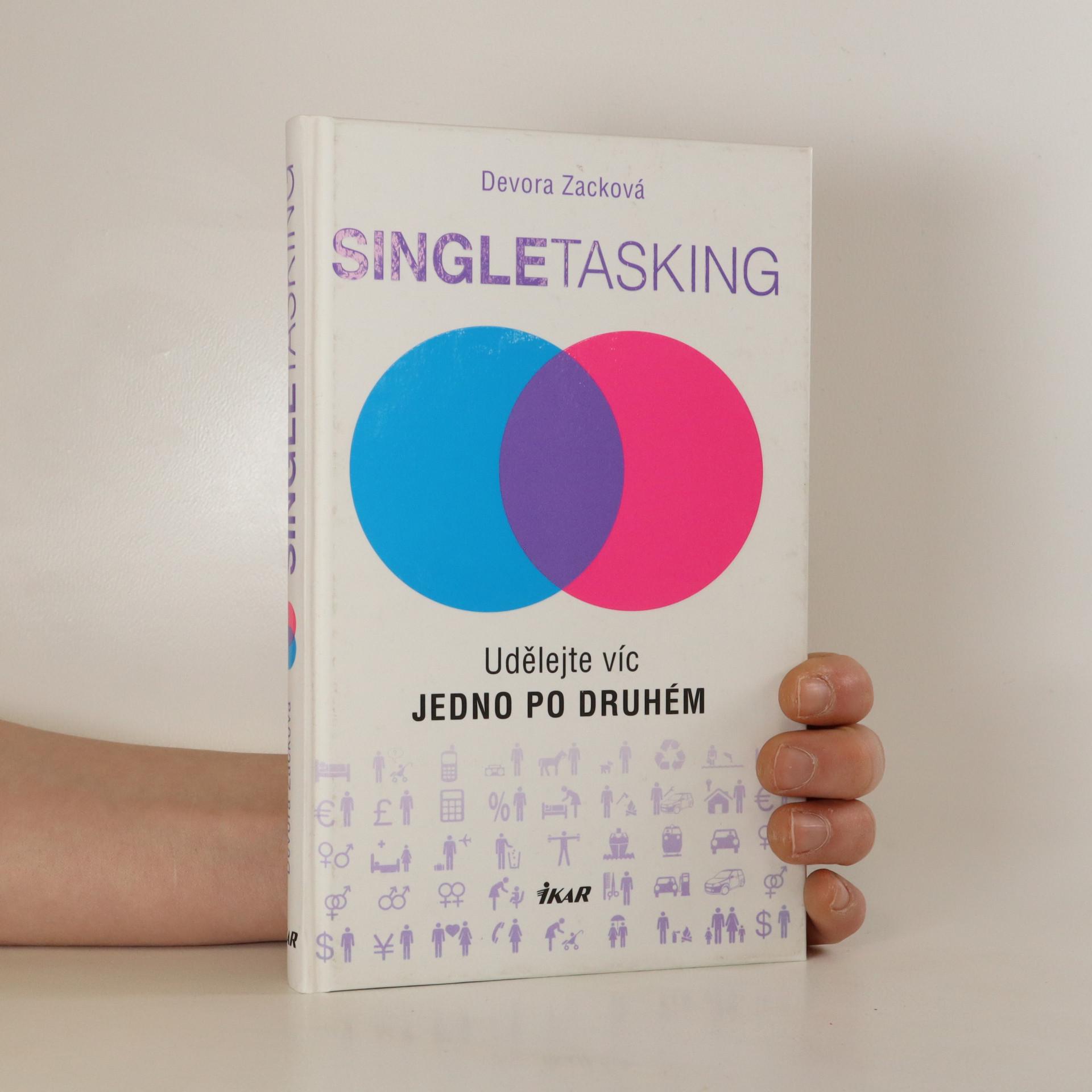 antikvární kniha Singletasking , 2016