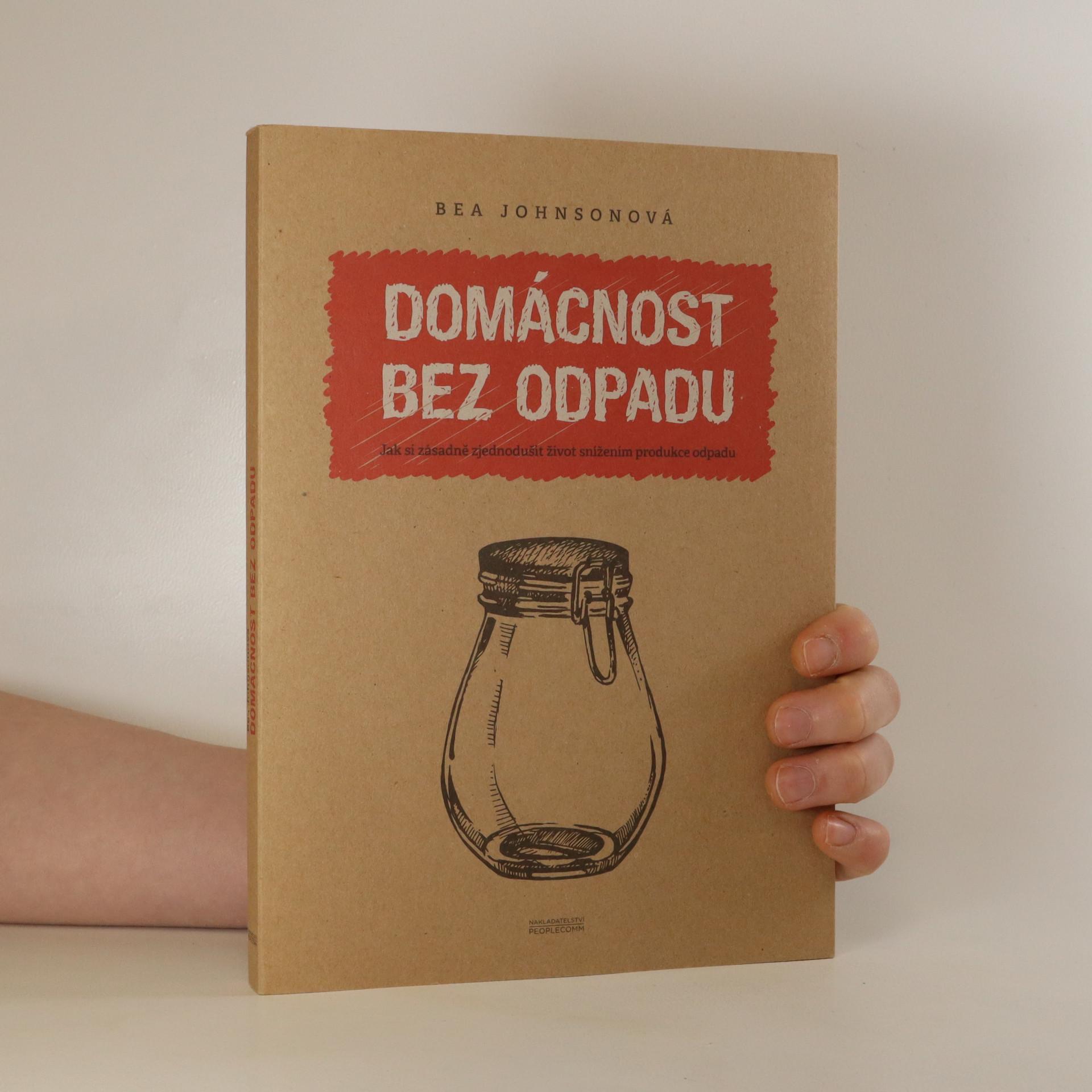 antikvární kniha Domácnost bez odpadu, neuveden