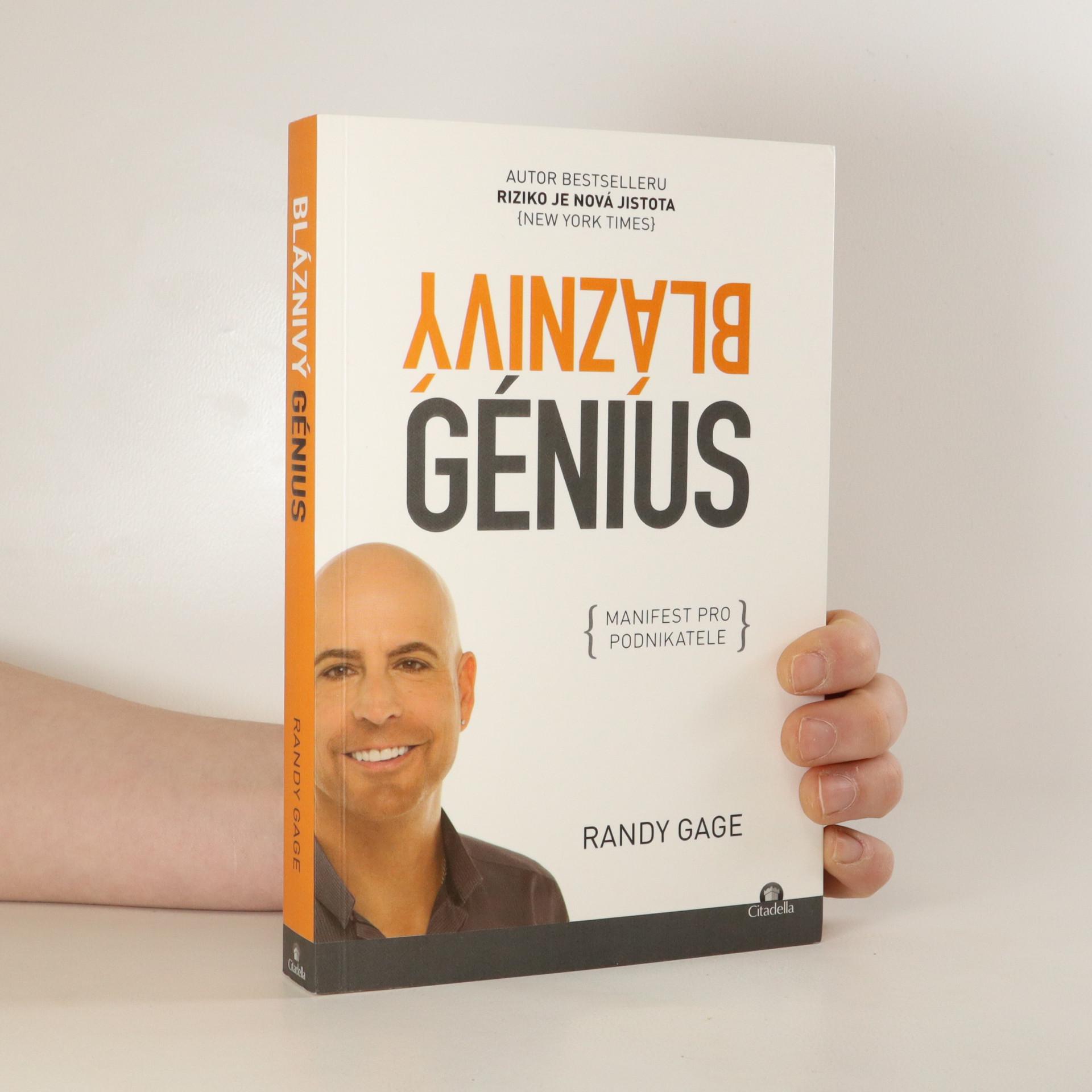 antikvární kniha Bláznivý génius. Manifest pro podnikatele, 2016