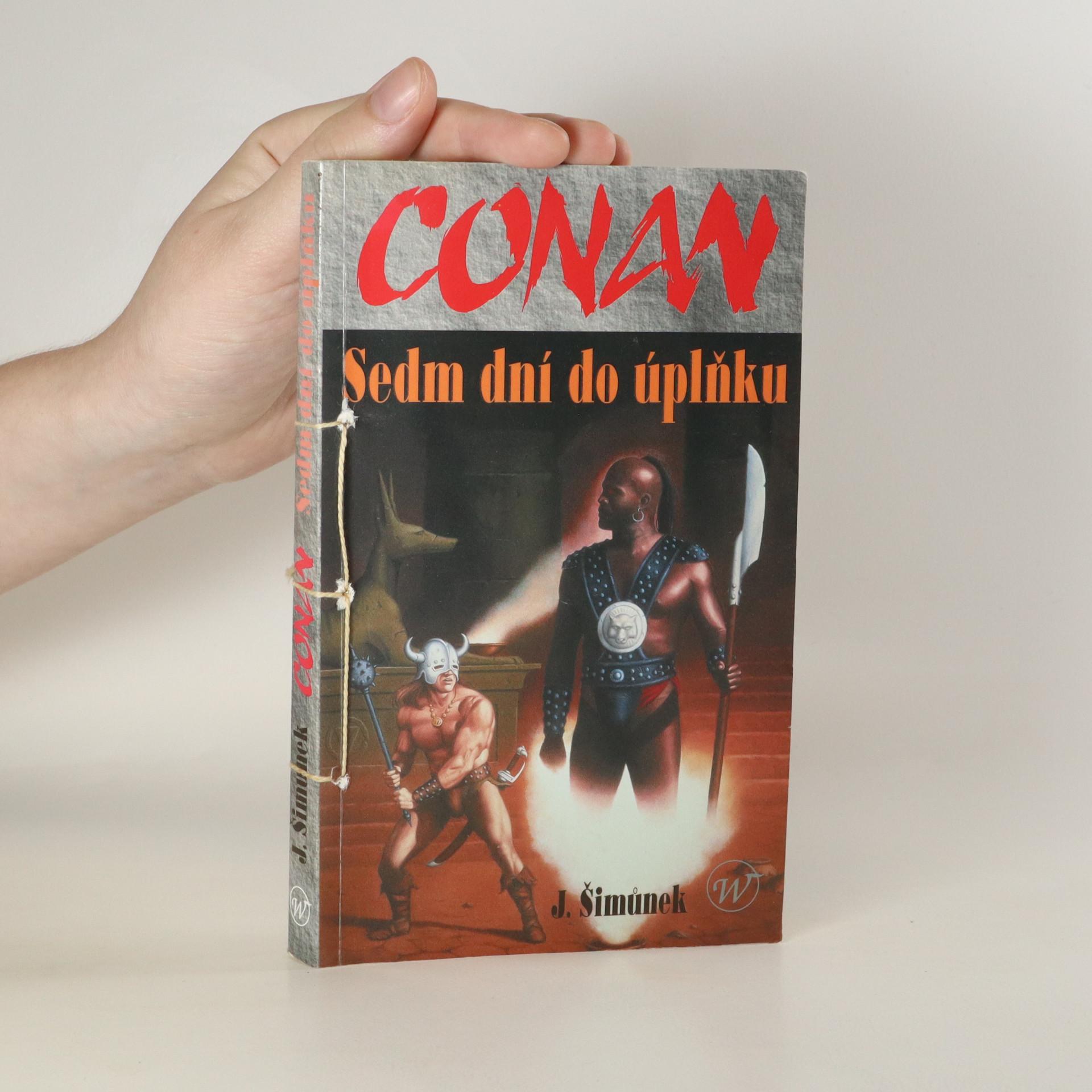 antikvární kniha Conan. Sedm dní do úplňku., 2002
