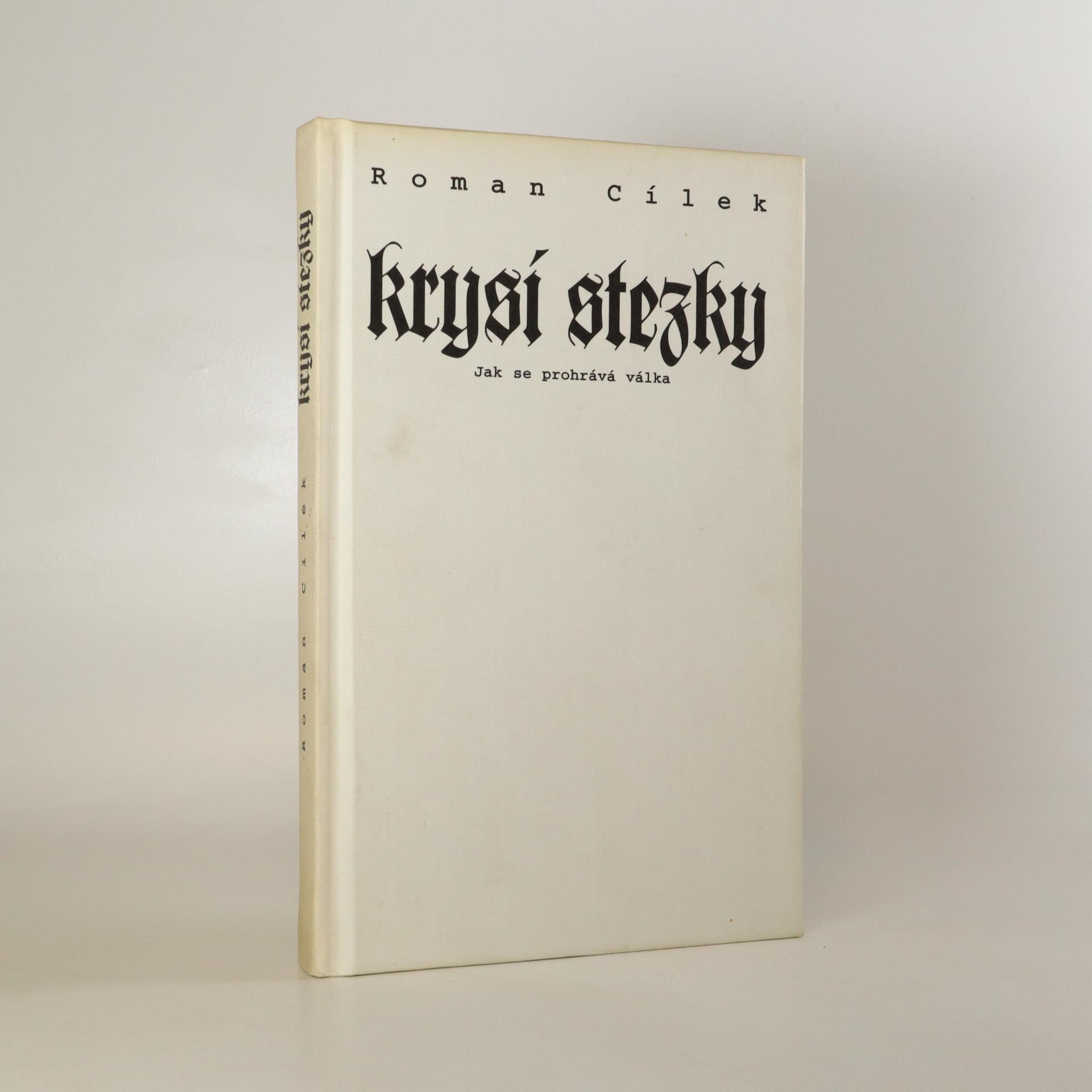 antikvární kniha Krysí stezky aneb Jak se prohrává válka, 1996