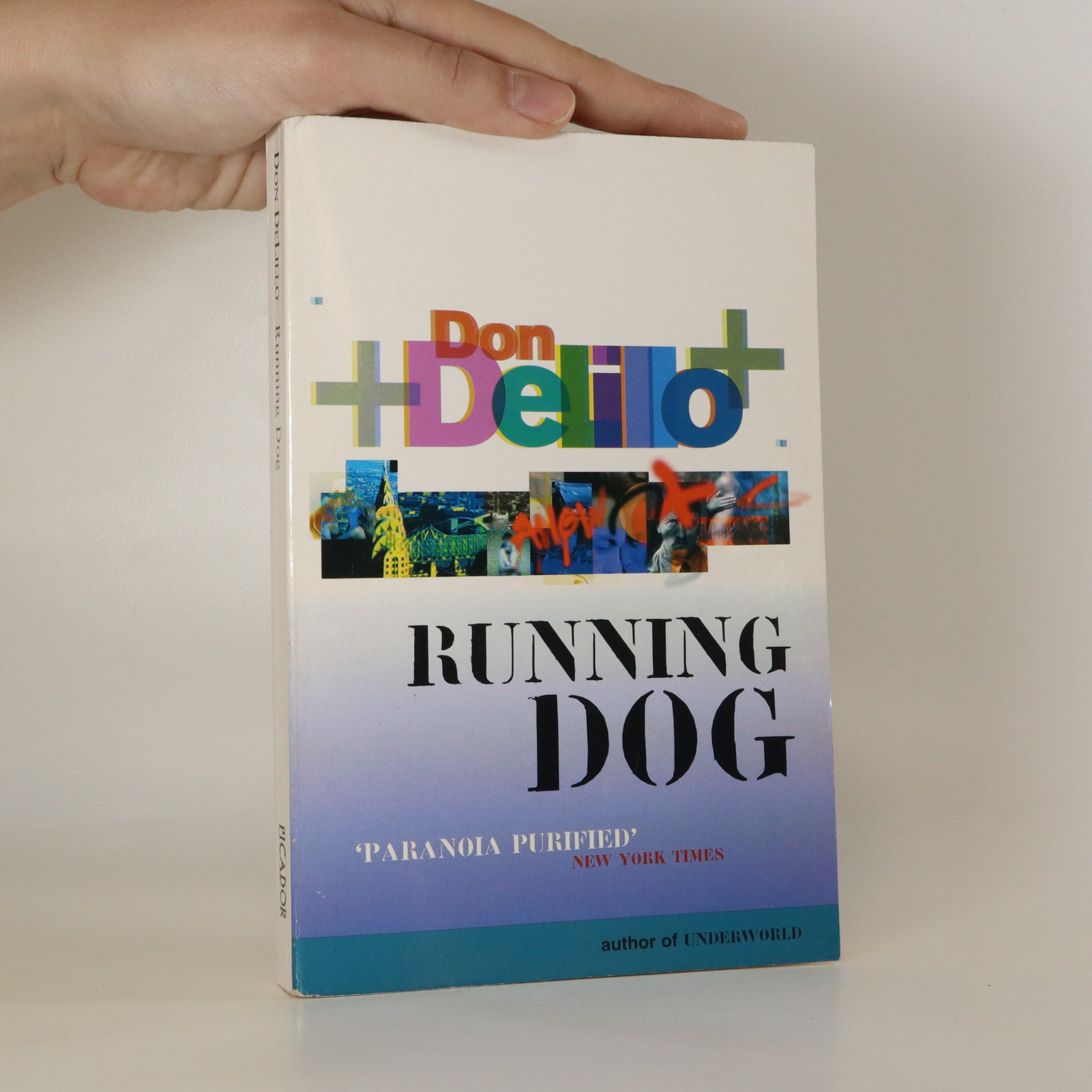 antikvární kniha Running Dog, 1999