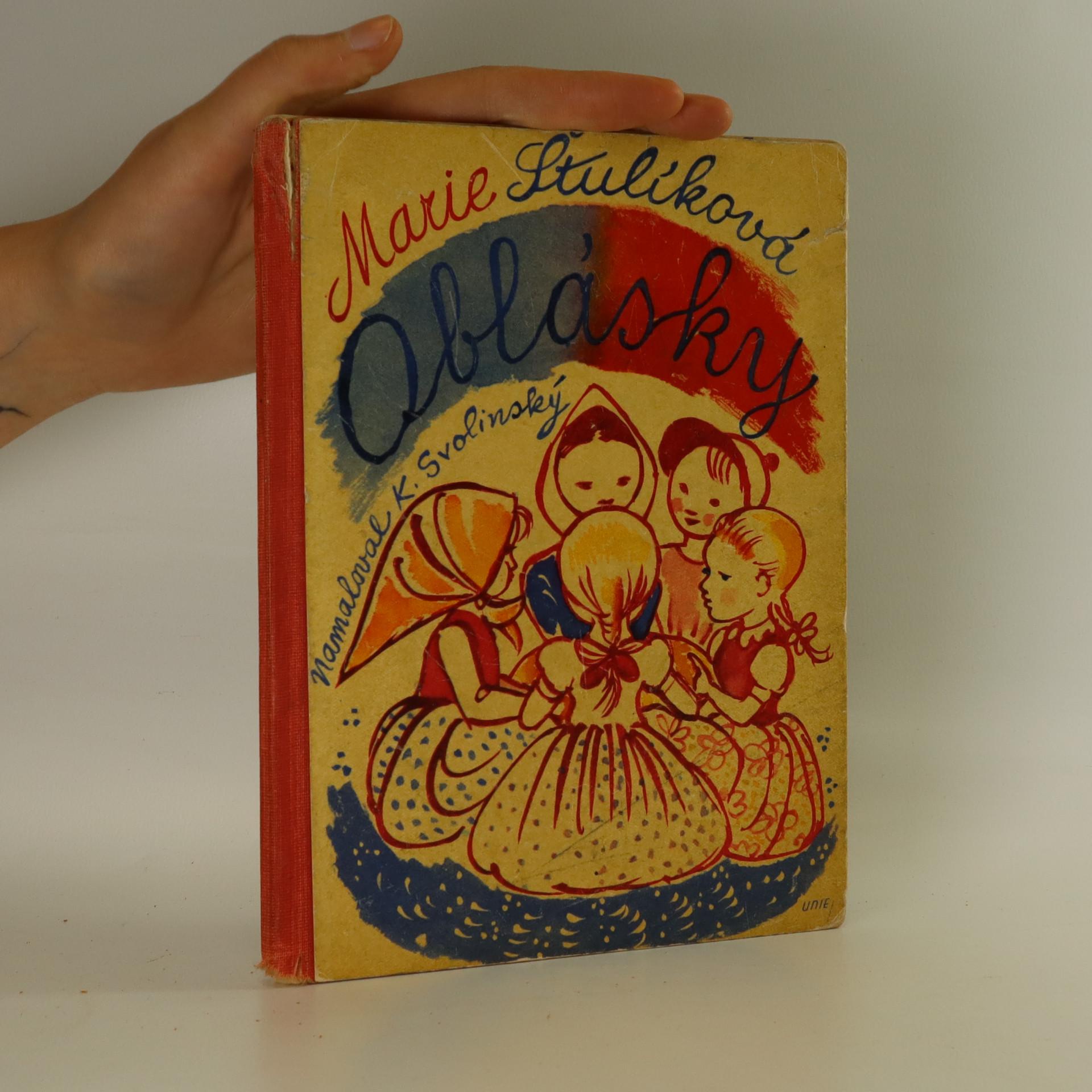 antikvární kniha Oblásky, 1937