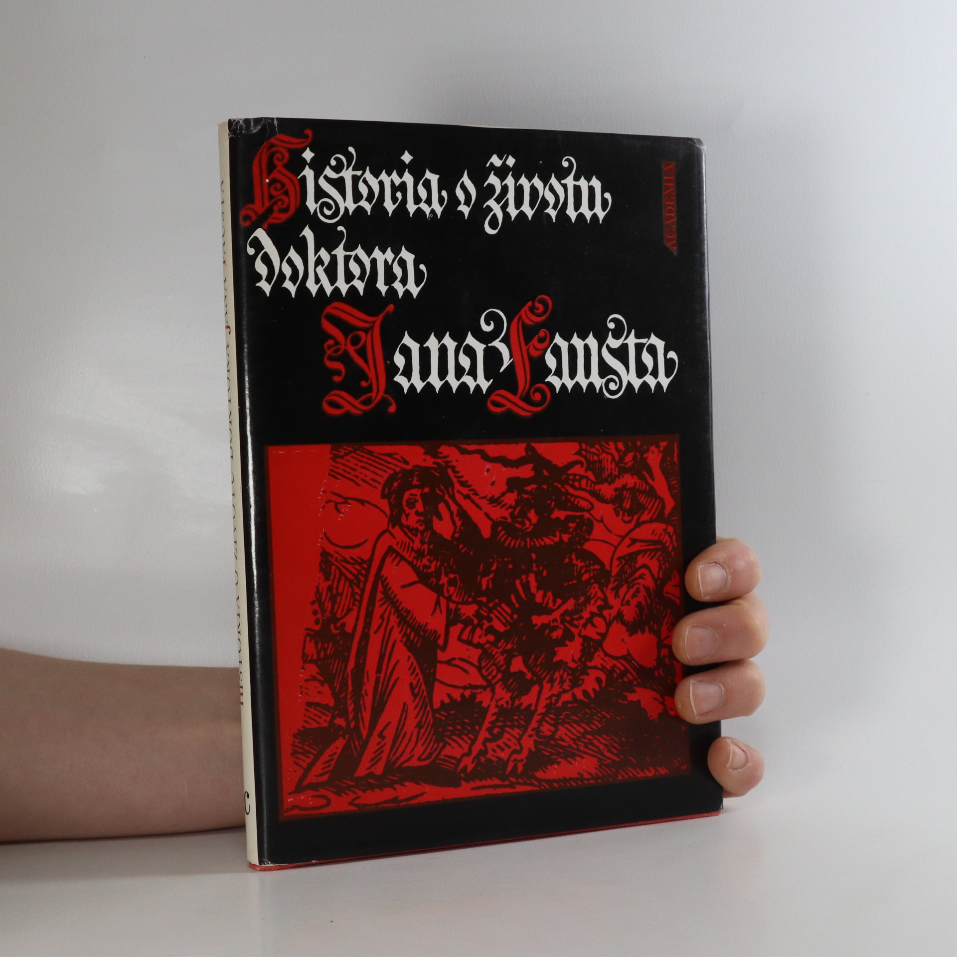 antikvární kniha Historia o životu doktora Jana Fausta, 1989