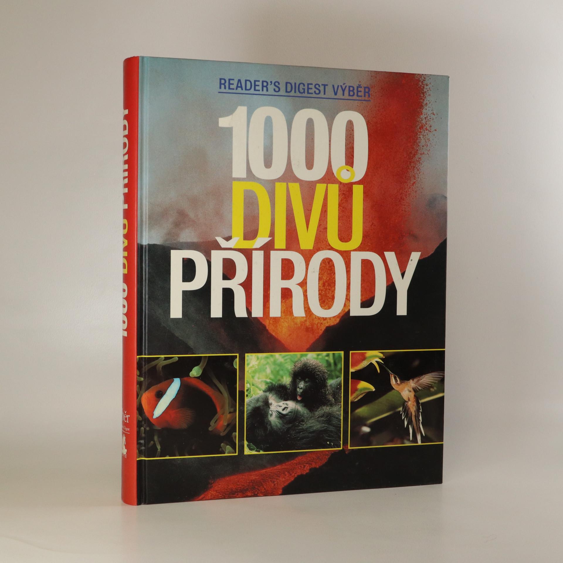 antikvární kniha 1000 divů přírody, 2002