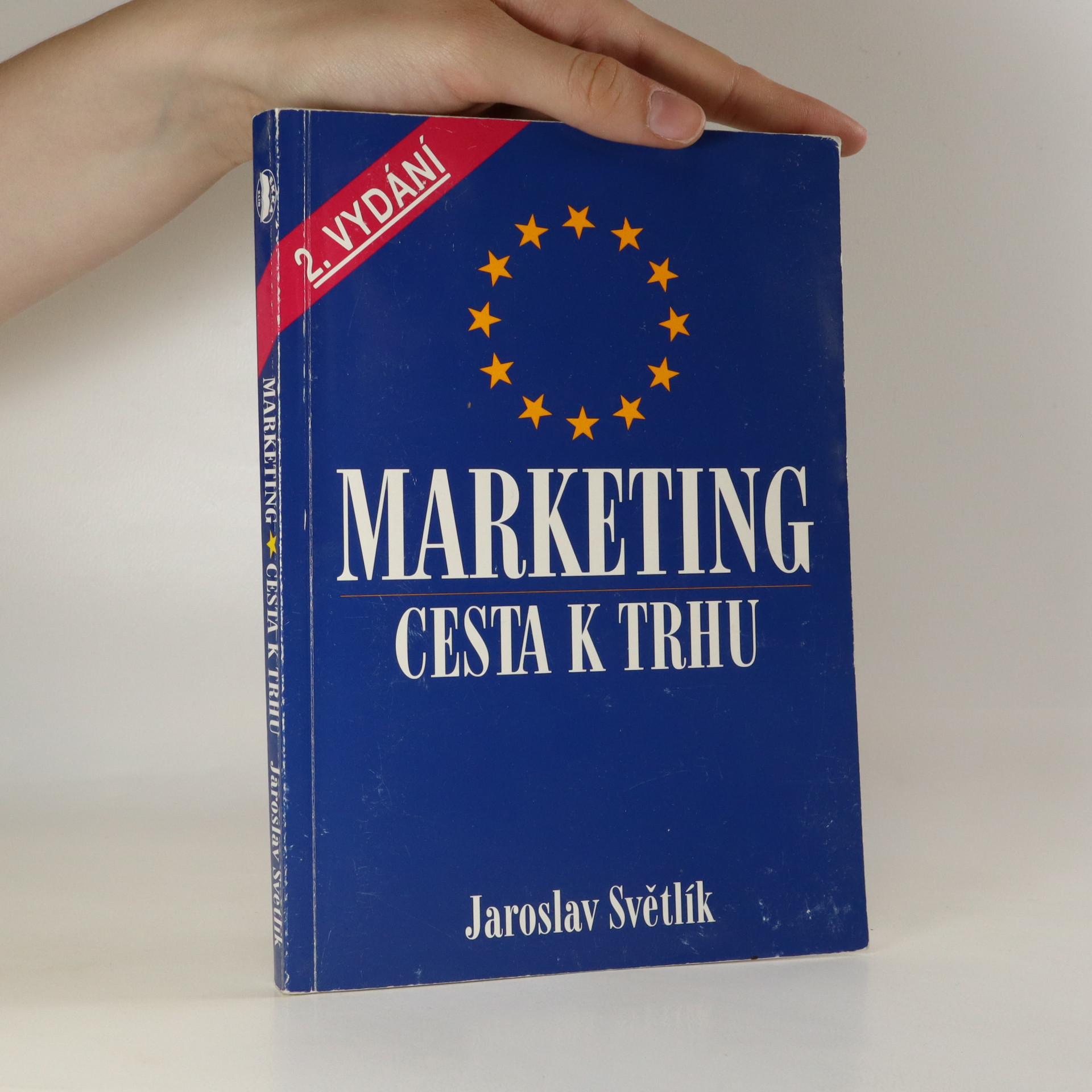 antikvární kniha Marketing. Cesta k trhu, 1994