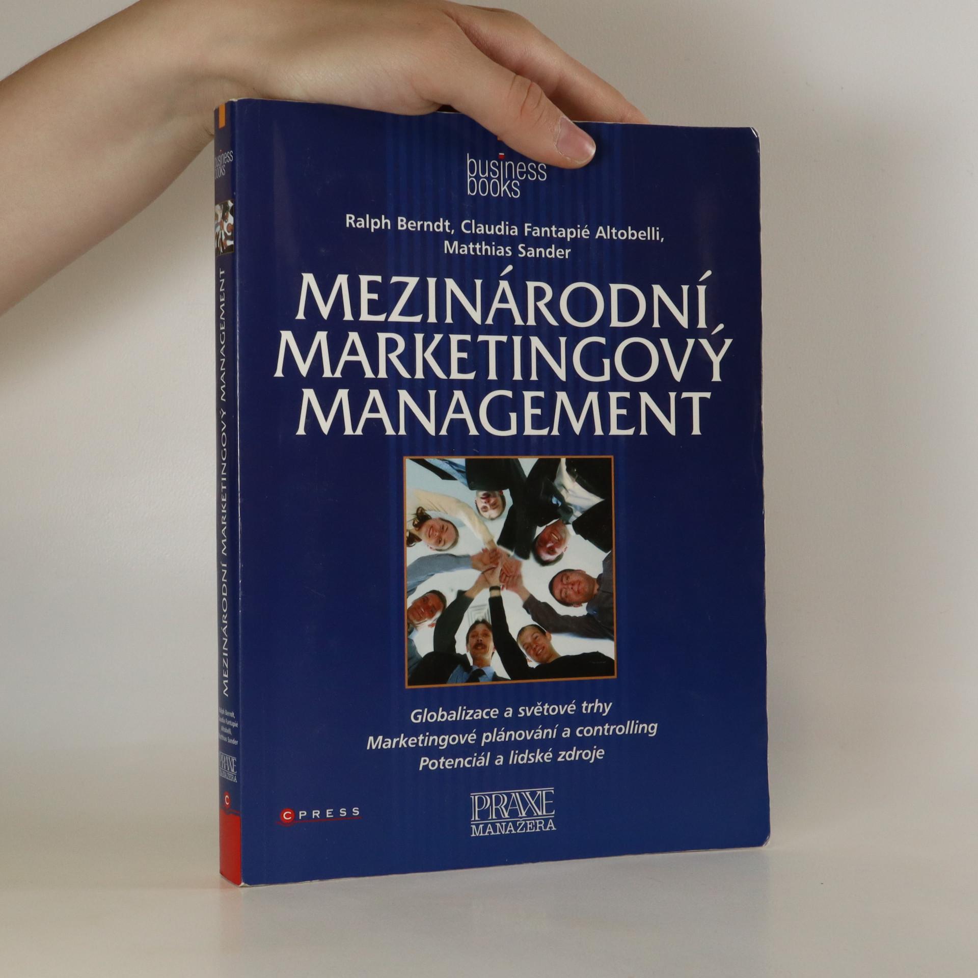 antikvární kniha Mezinárodní marketingový management , 2007