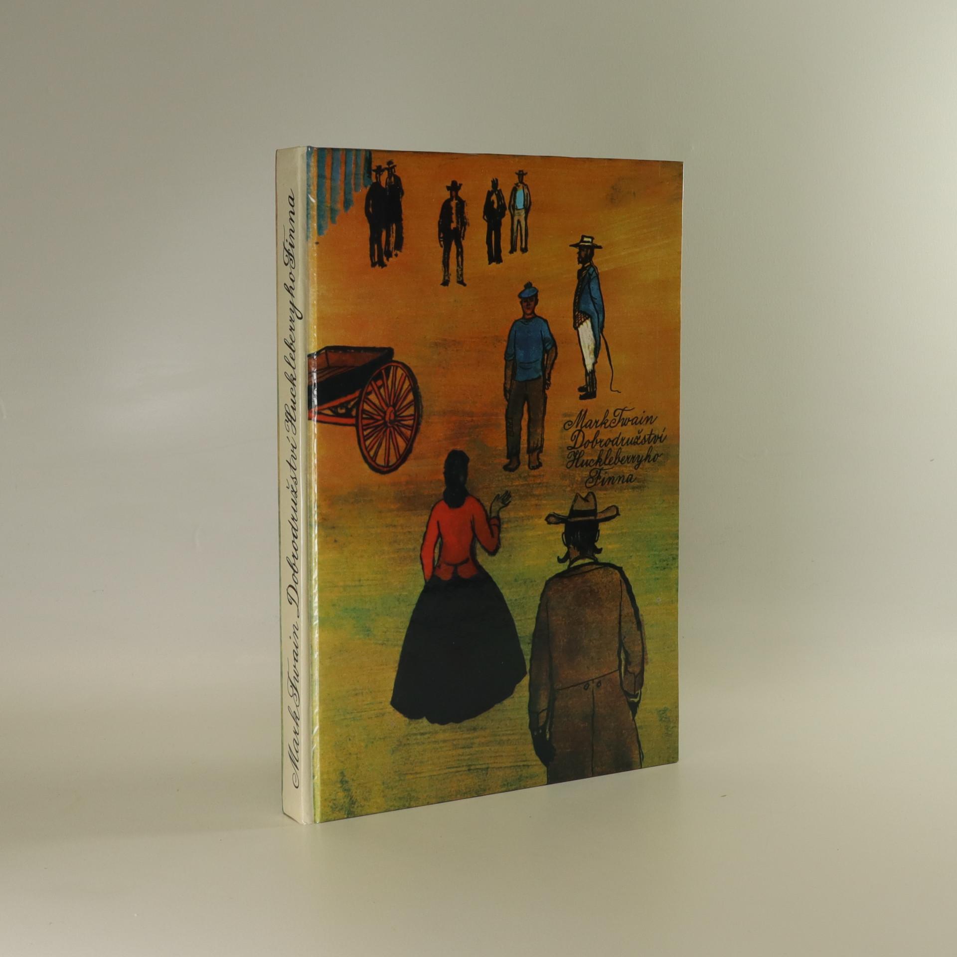 antikvární kniha Dobrodružství Huckleberryho Finna, 1986