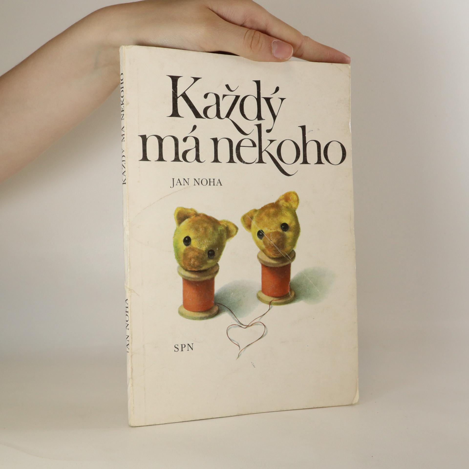 antikvární kniha Každý má někoho, 1981